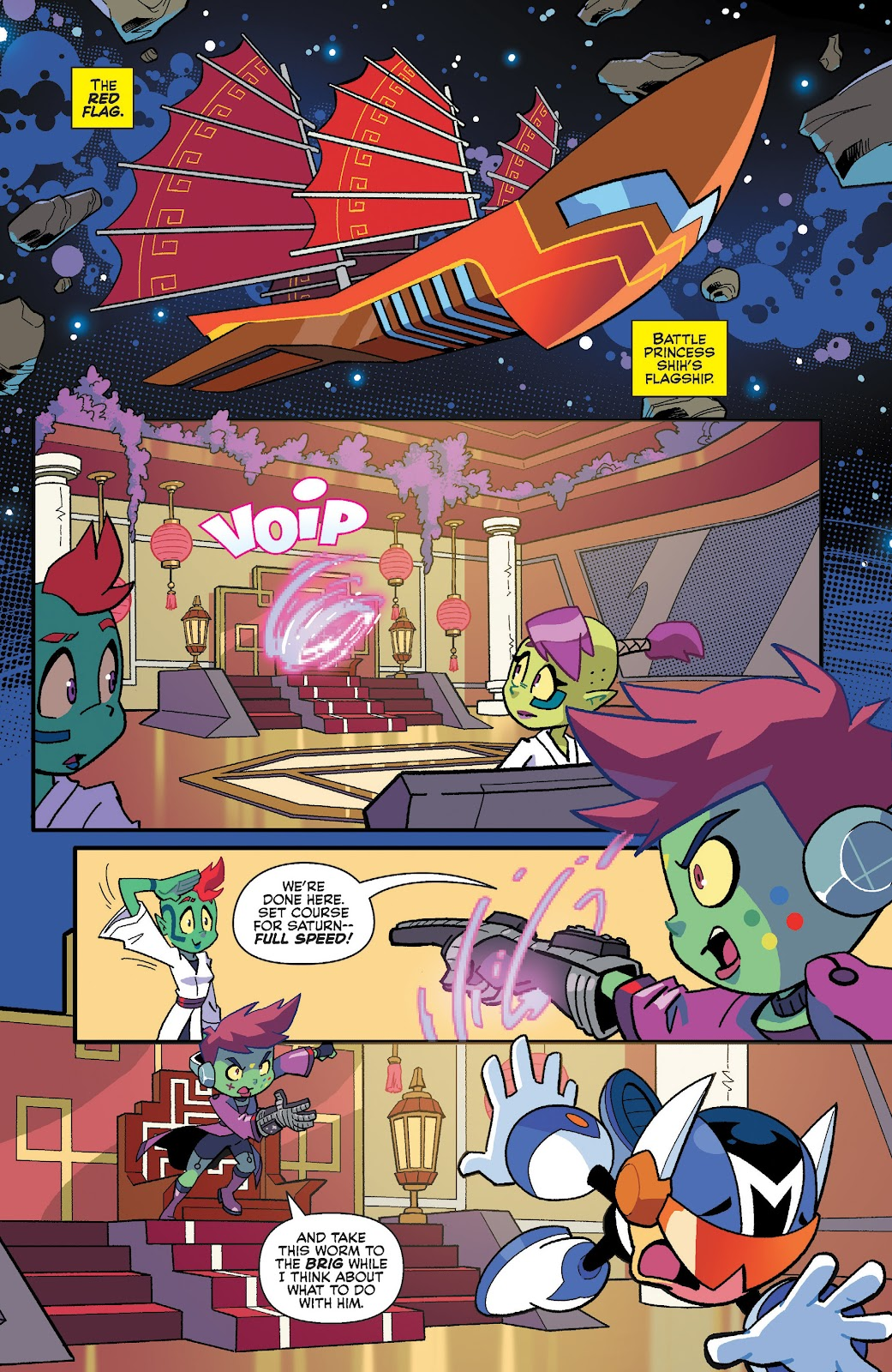 Read online Cosmo: The Mighty Martian comic -  Issue #1 - 20