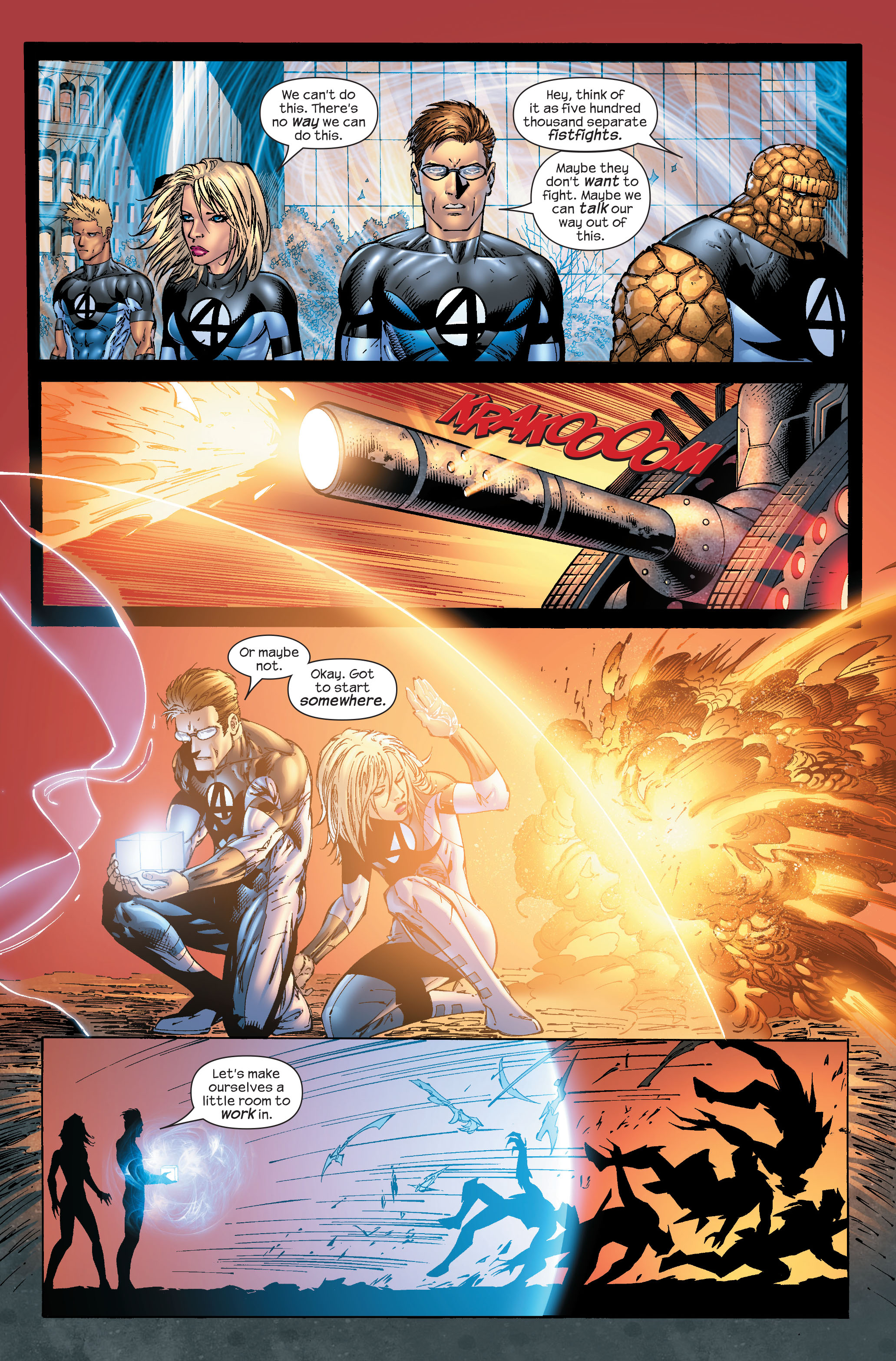 Read online Ultimate Fantastic Four (2004) comic -  Issue #51 - 14