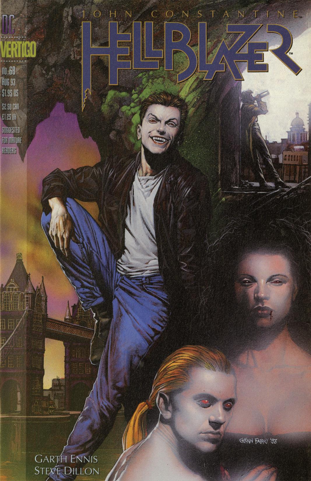 Hellblazer issue 68 - Page 1