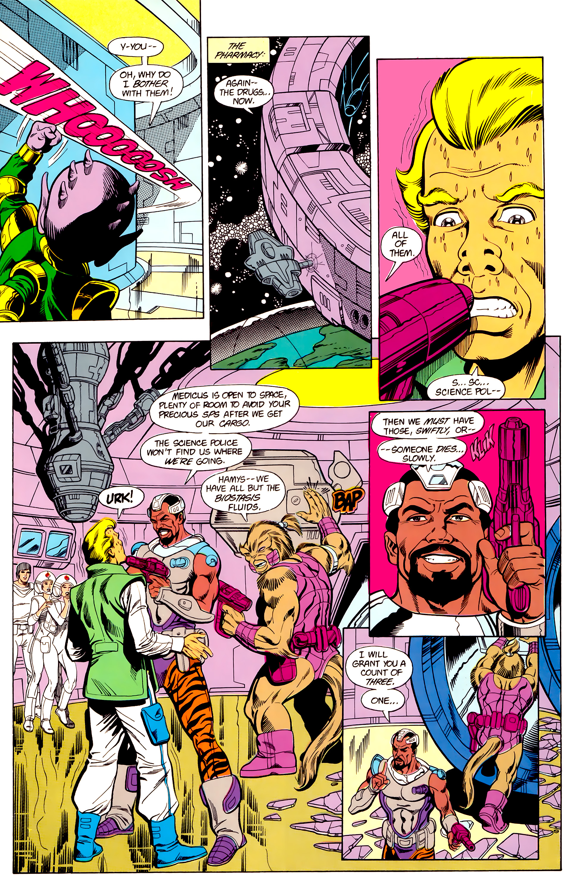 Legion of Super-Heroes (1984) 19 Page 25