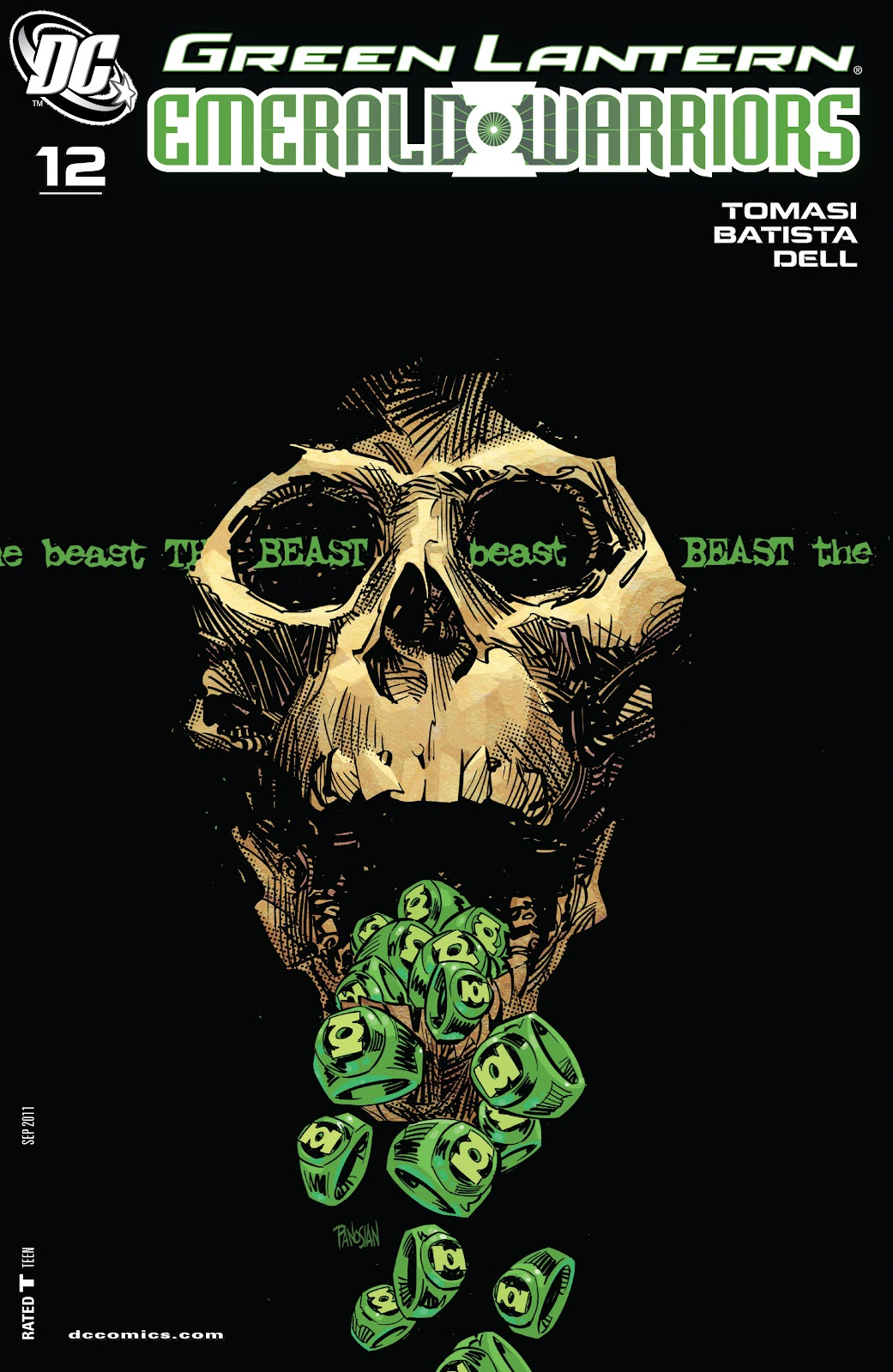 Green Lantern: Emerald Warriors 12 Page 1
