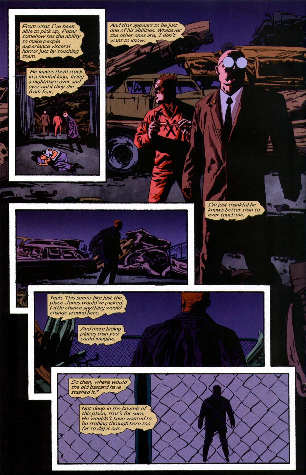 Read online Sleeper comic -  Issue #9 - 17