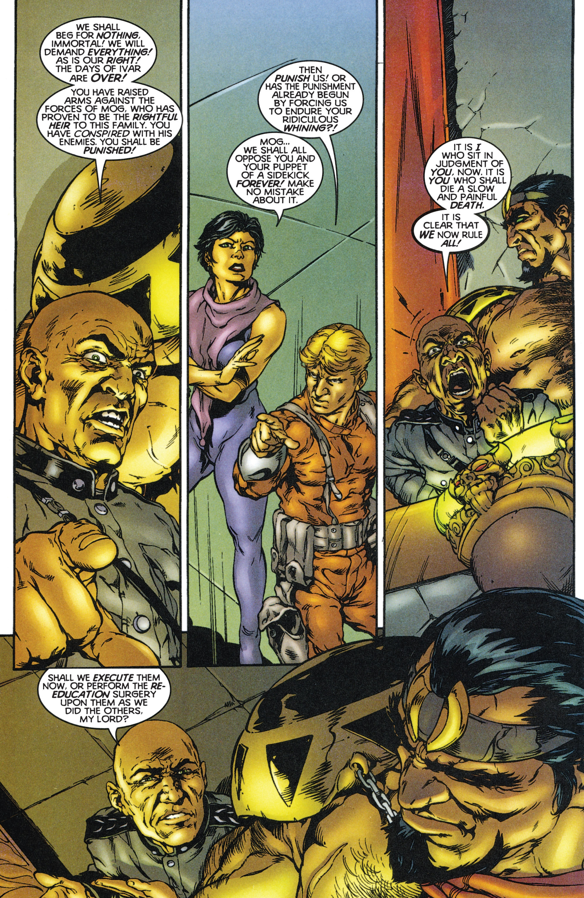 Read online Eternal Warriors comic -  Issue # Issue The Immortal Enemy - 3