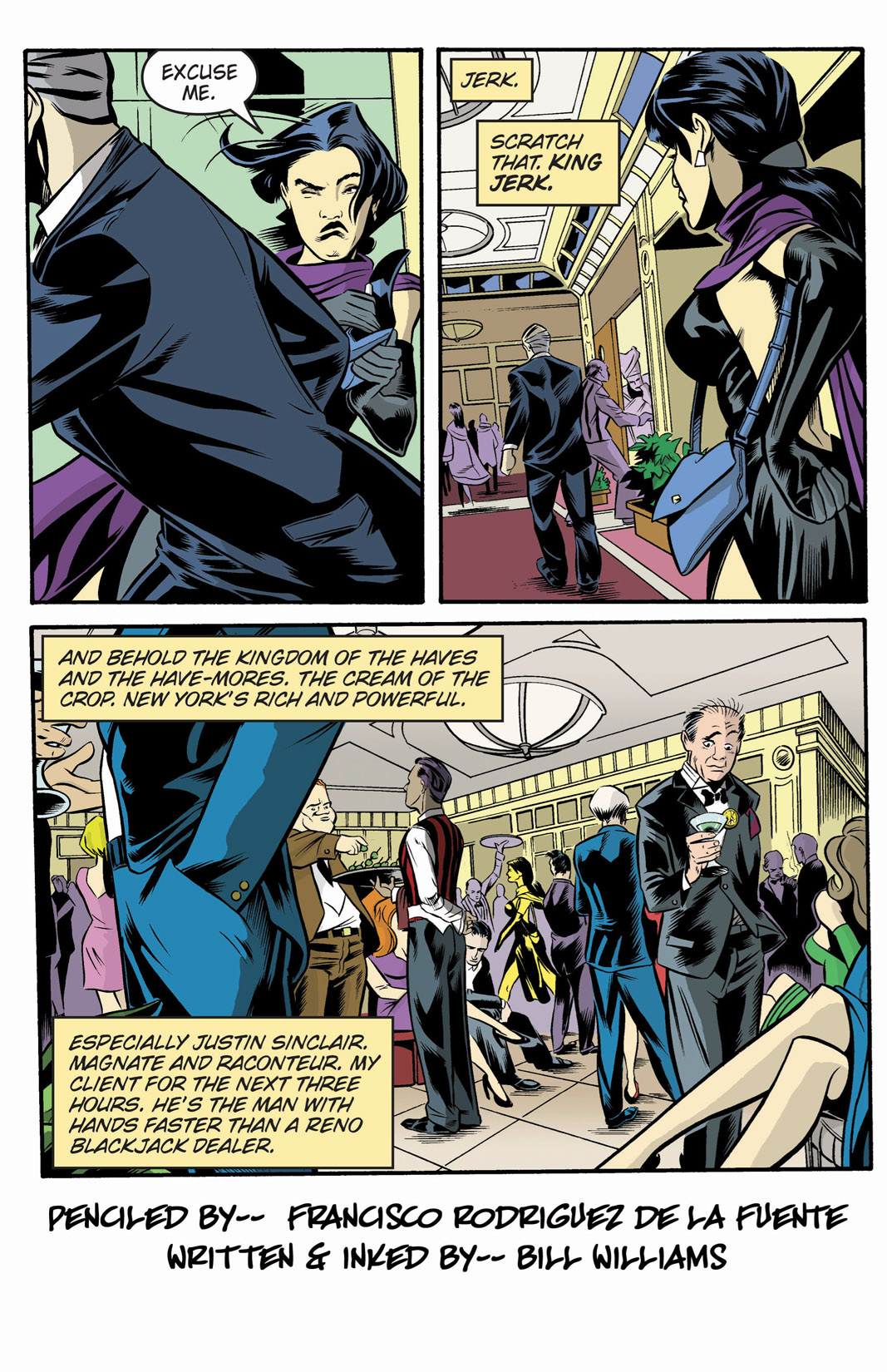 Read online SideChicks comic -  Issue #1 - 4