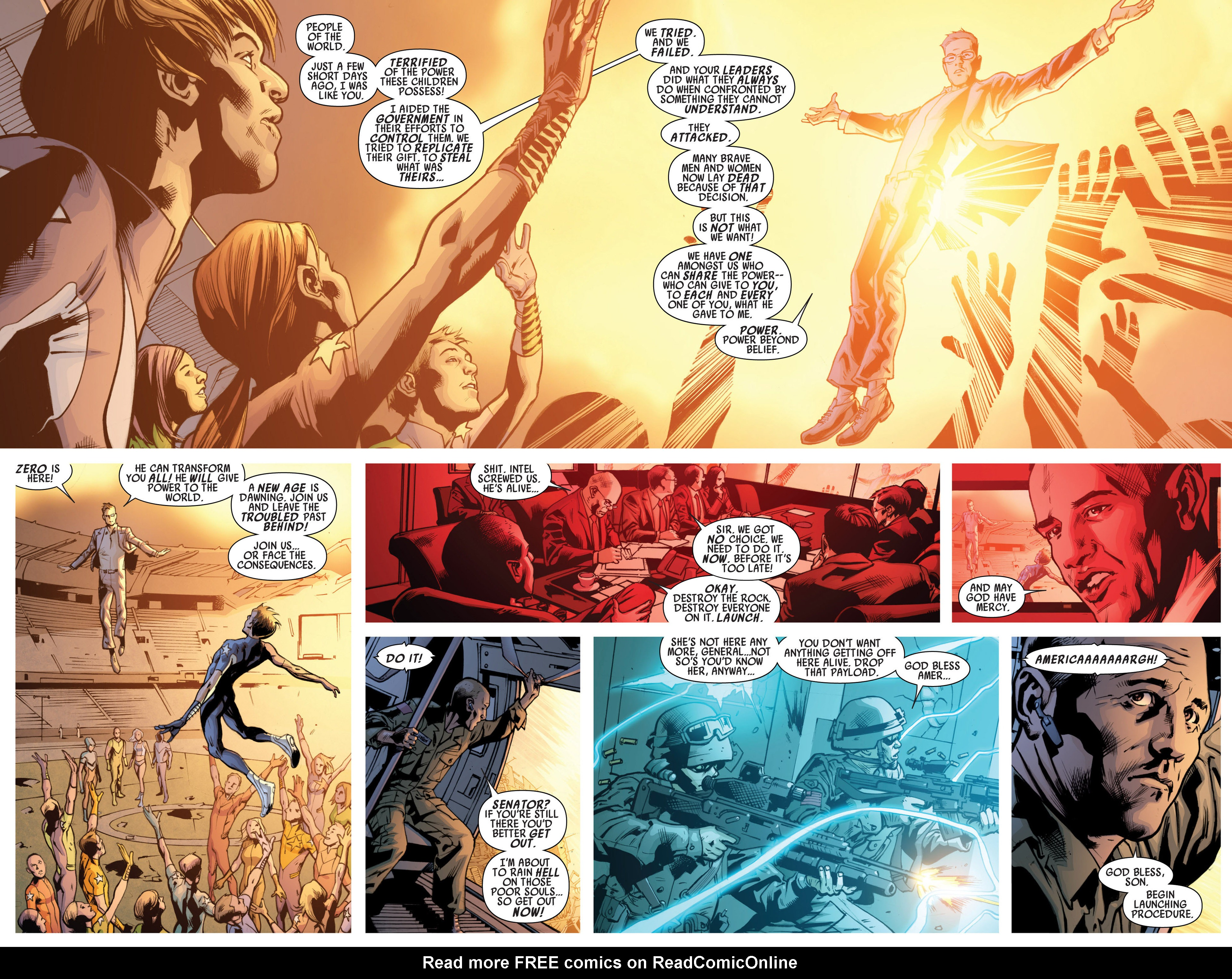 Read online America's Got Powers comic -  Issue #7 - 8