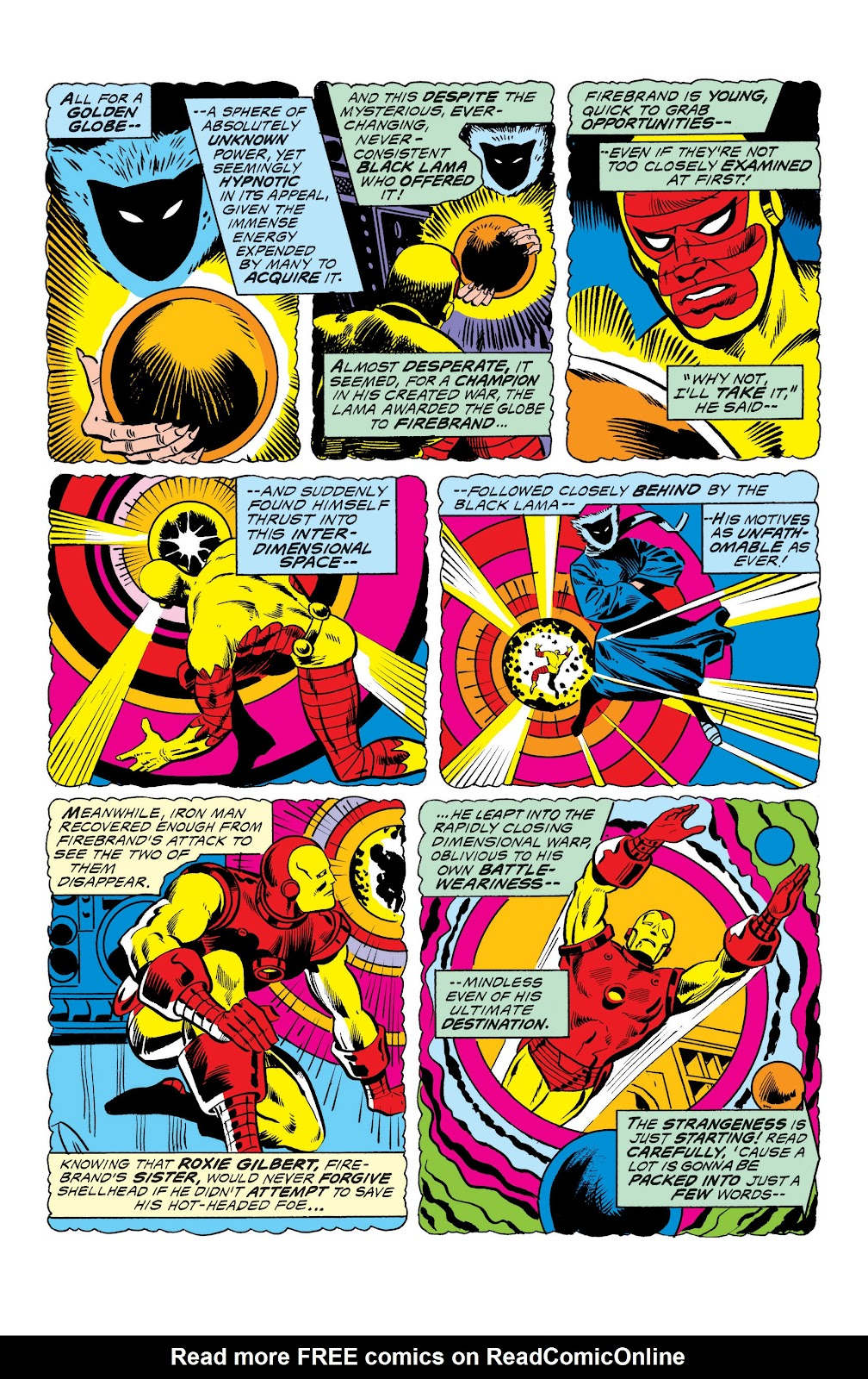 Read online Marvel Masterworks: The Invincible Iron Man comic -  Issue # TPB 10 (Part 3) - 16
