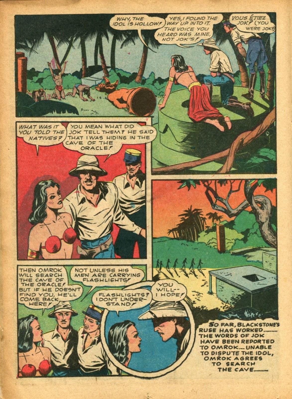 Read online Super-Magician Comics comic -  Issue #5 - 32