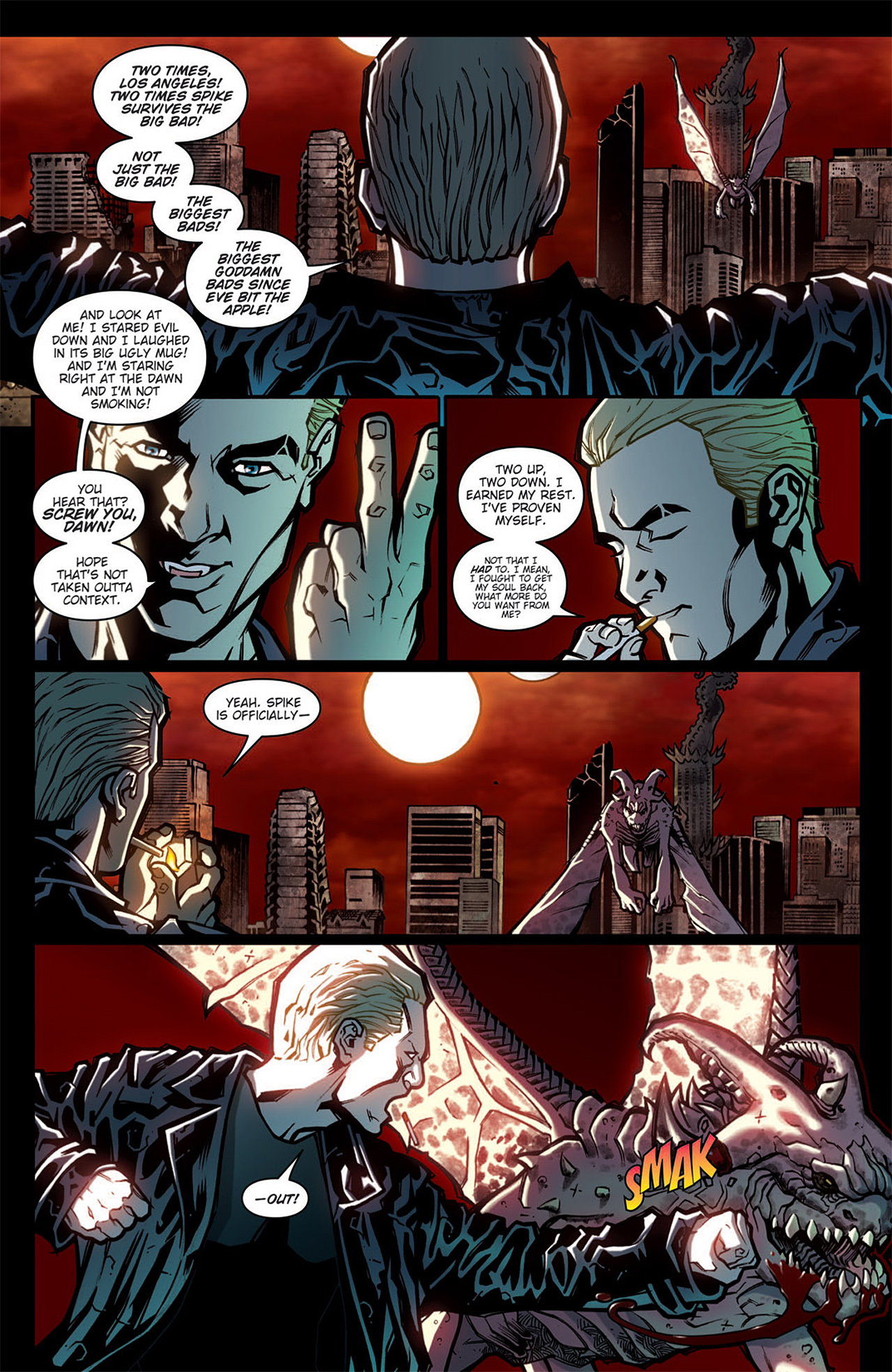 Read online Angel: After The Fall comic -  Issue #6 - 7