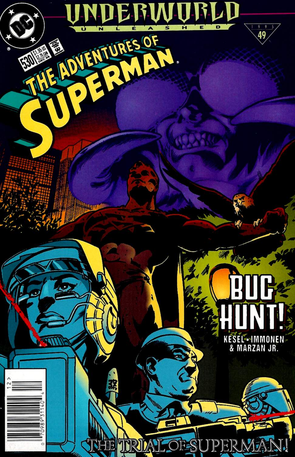 Read online Adventures of Superman (1987) comic -  Issue #530 - 1