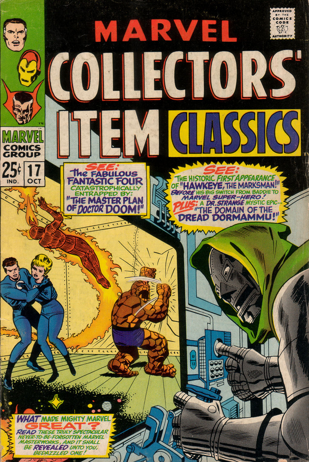 Marvel Collectors Item Classics issue 17 - Page 1