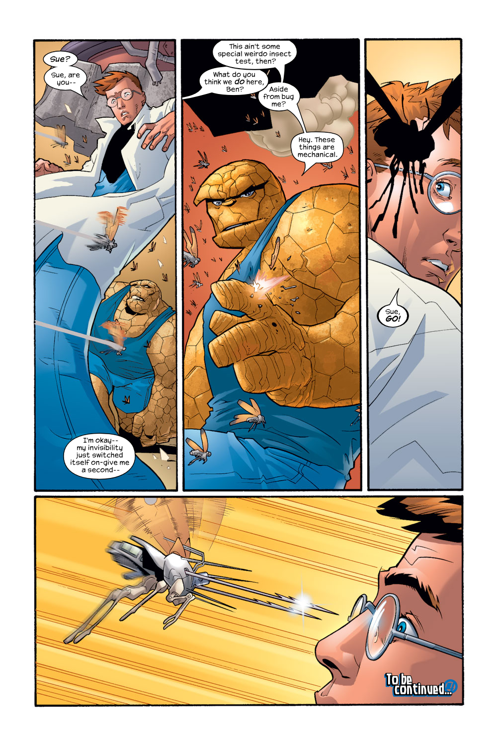 Read online Ultimate Fantastic Four (2004) comic -  Issue #8 - 23