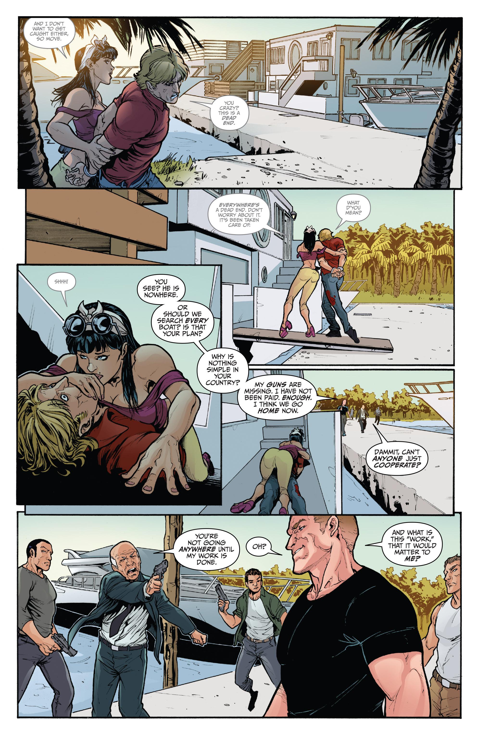 Read online 3 Guns comic -  Issue #5 - 6