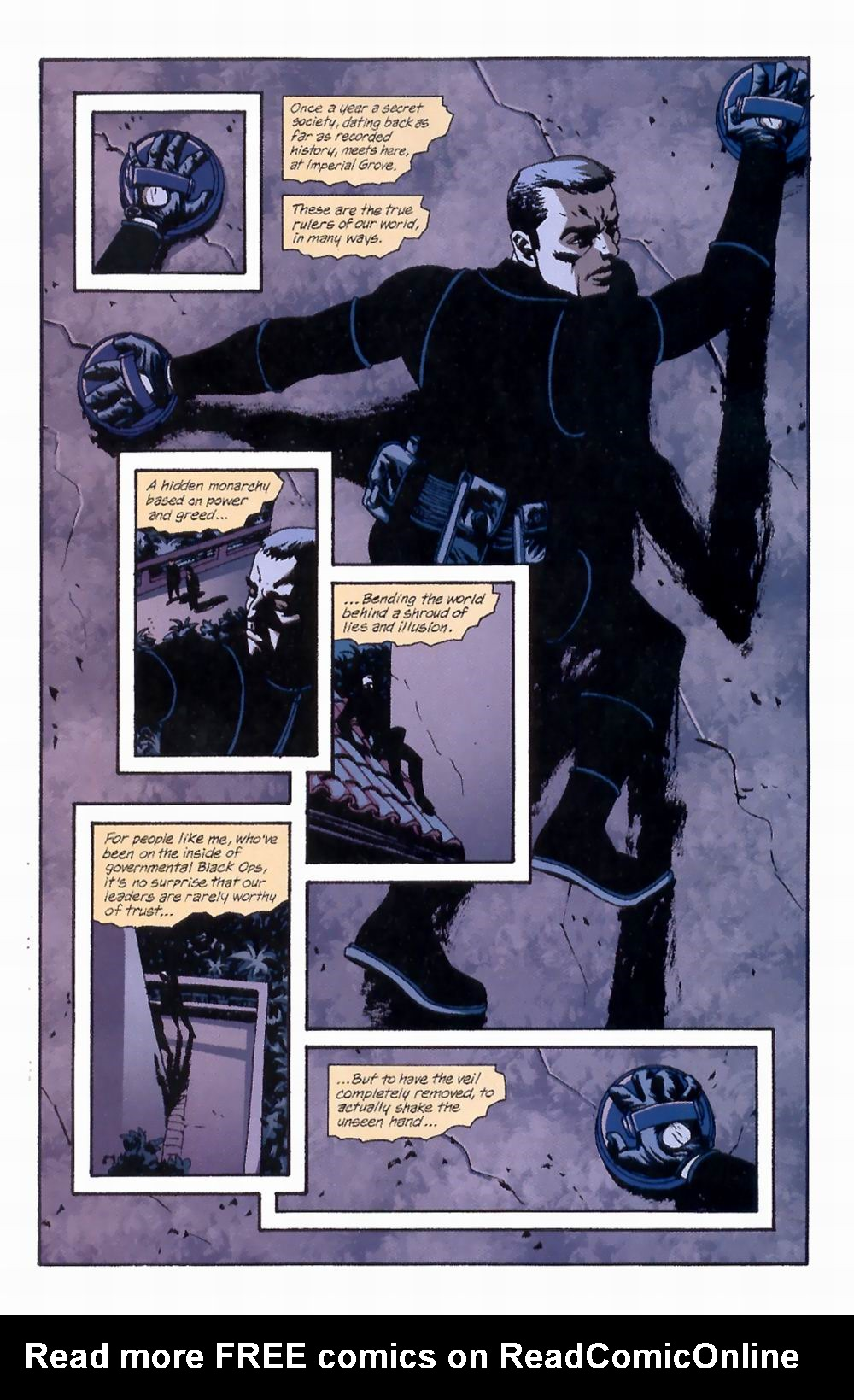 Read online Sleeper comic -  Issue #4 - 3