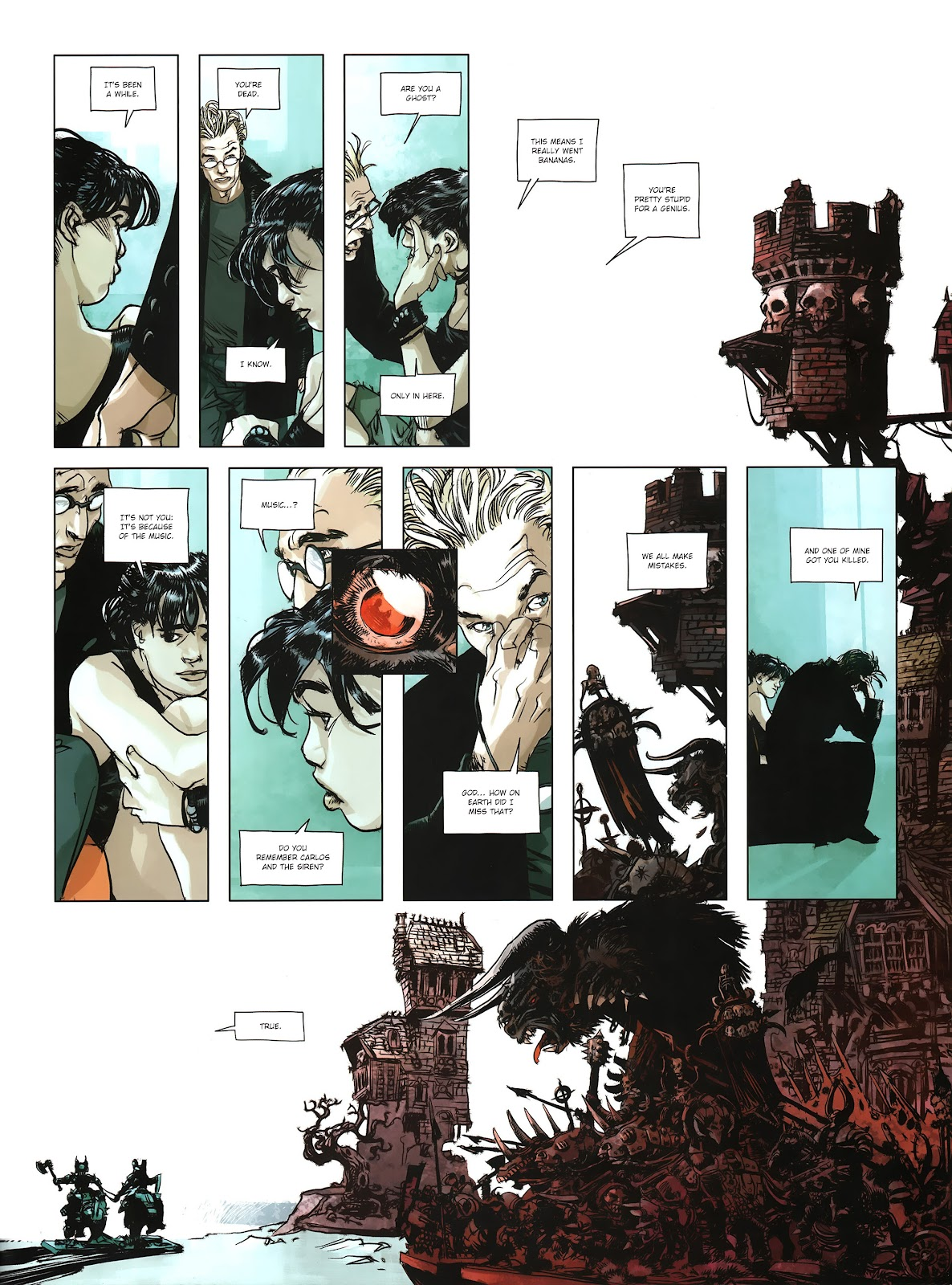 Read online Cutting Edge (2013) comic -  Issue #4 - 22