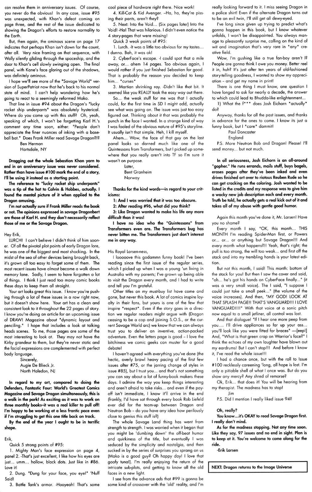 The Savage Dragon (1993) Issue #97 #100 - English 28