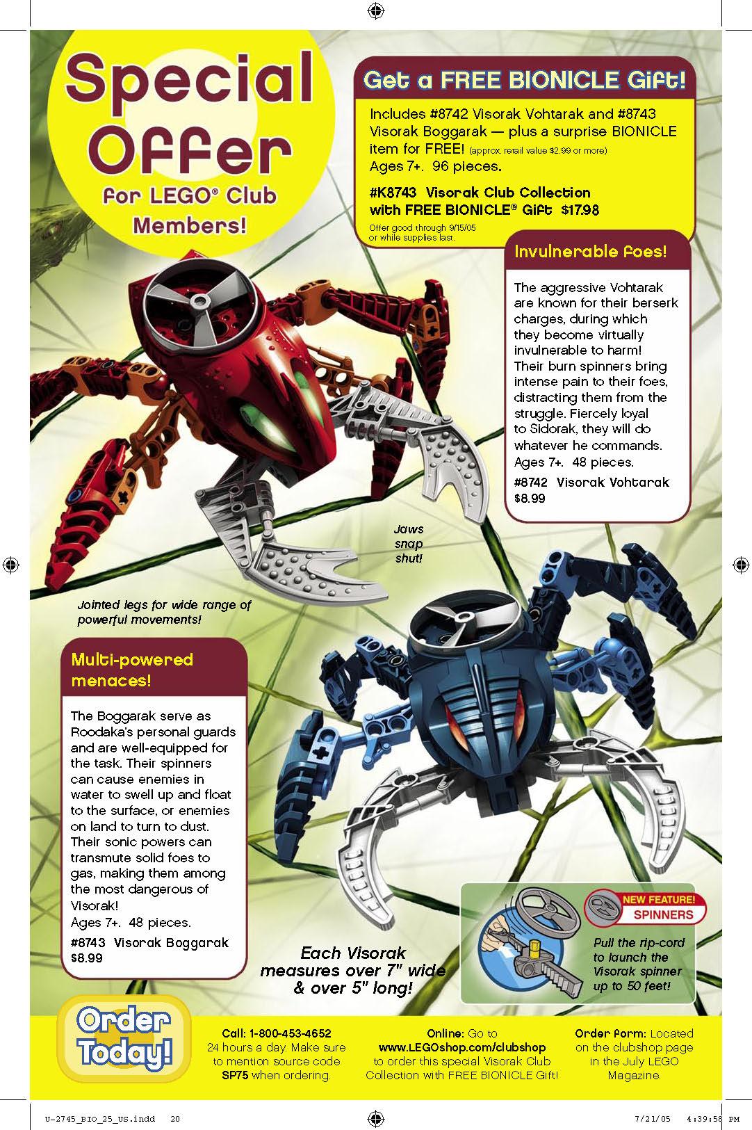 Bionicle 25 Page 20