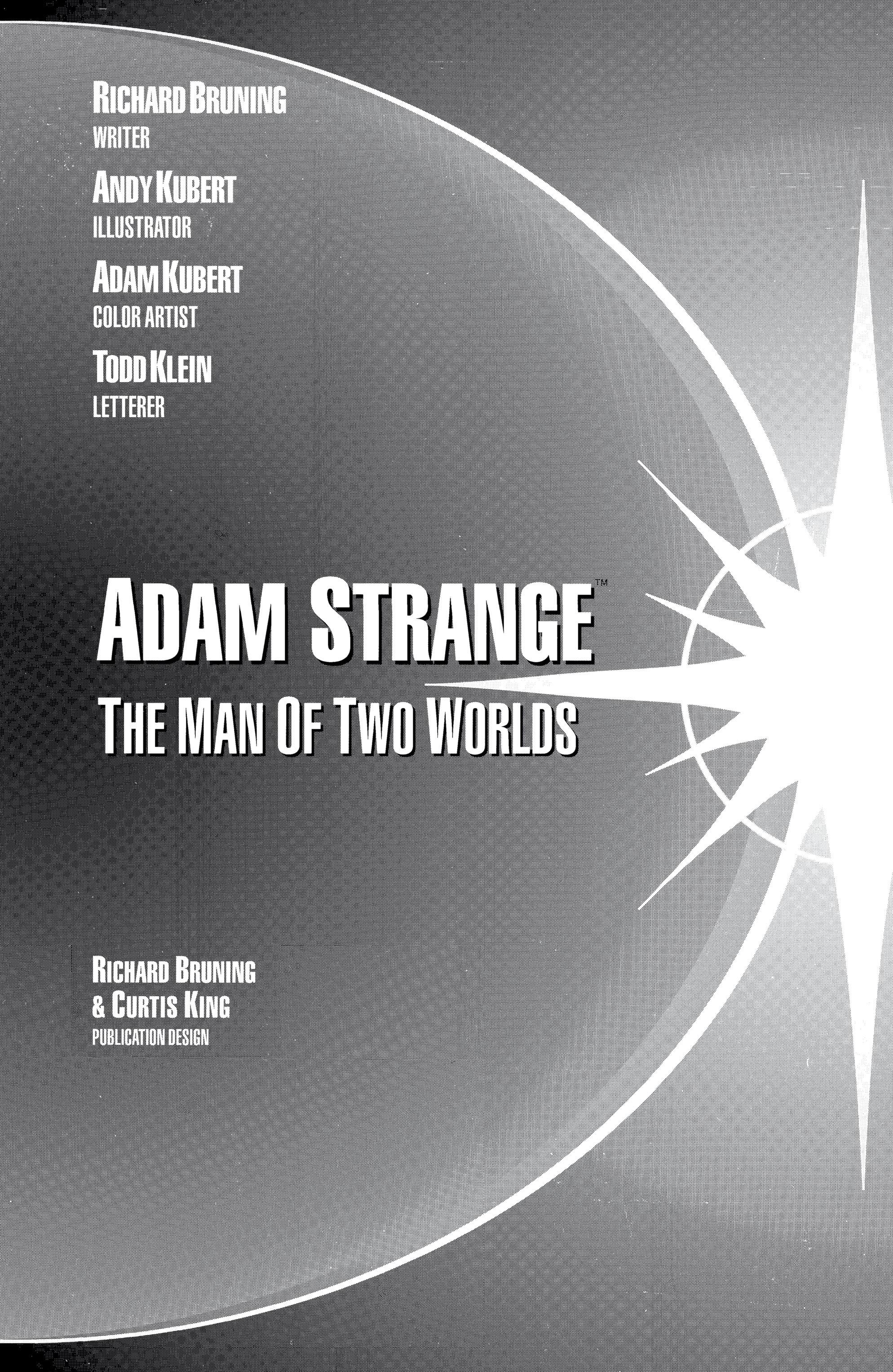 Read online Adam Strange (1990) comic -  Issue #2 - 3