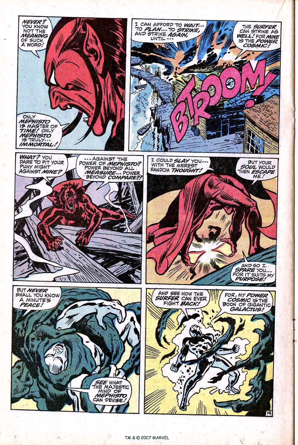 Read online Silver Surfer (1968) comic -  Issue #16 - 20