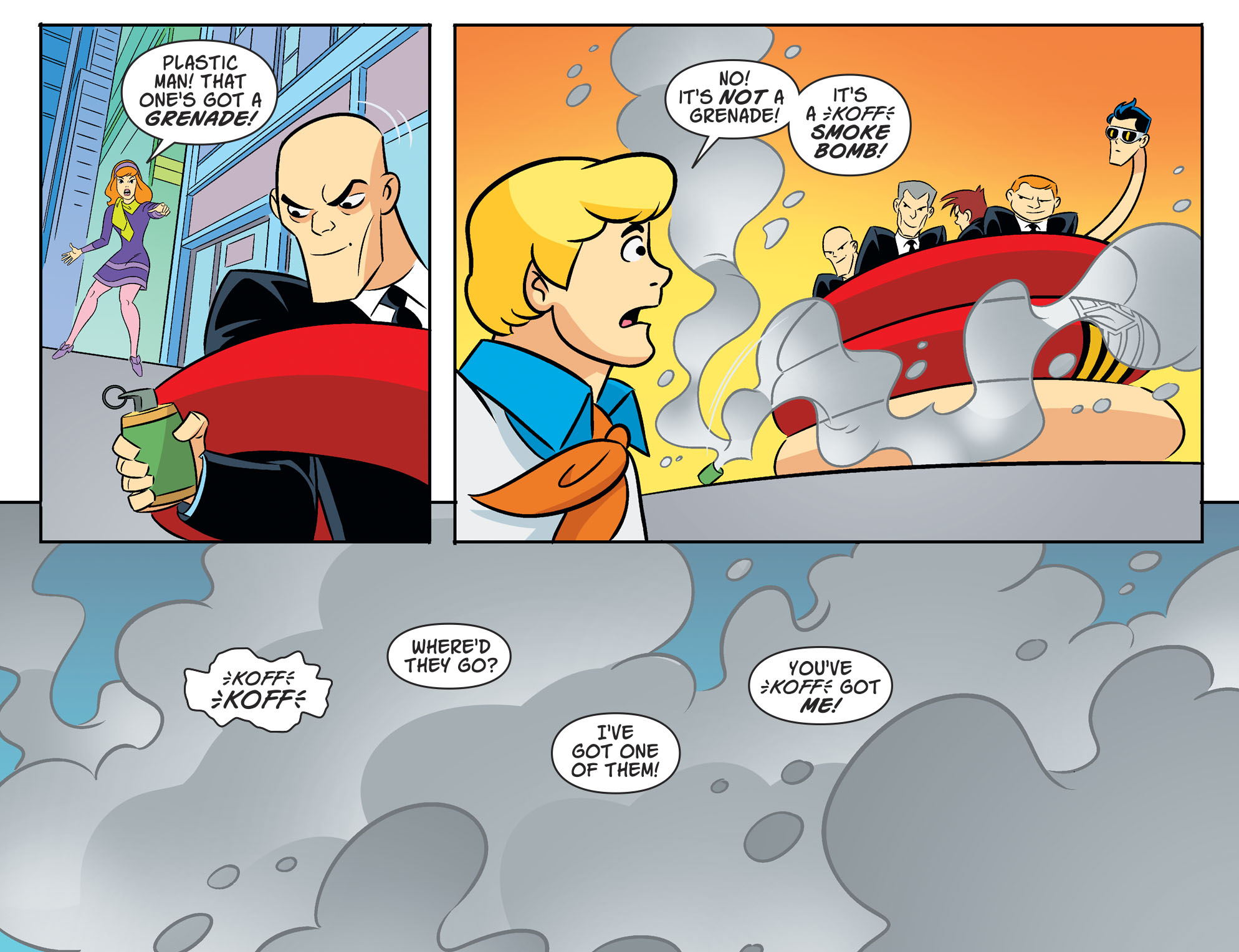 Read online Scooby-Doo! Team-Up comic -  Issue #53 - 17
