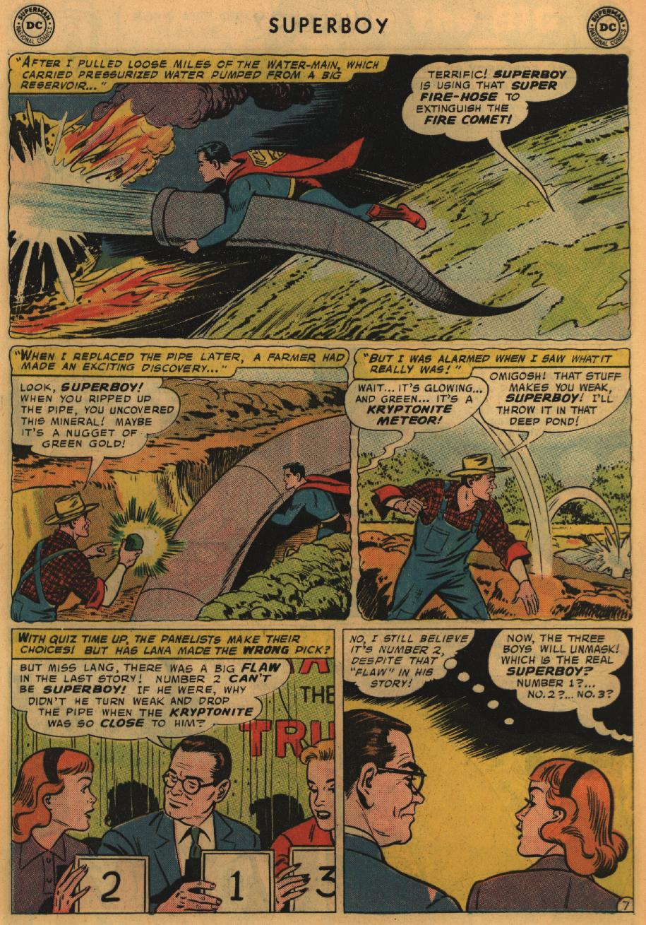 Superboy (1949) issue 67 - Page 8
