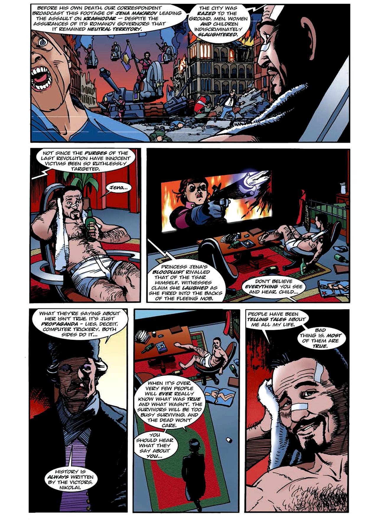 Read online Nikolai Dante comic -  Issue # TPB 4 - 117