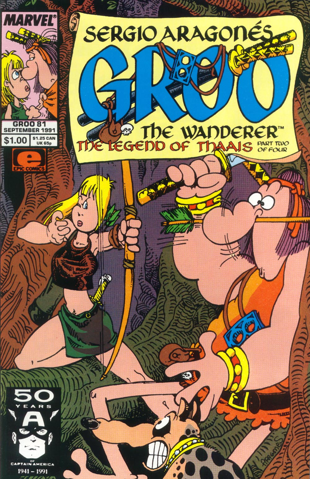 Read online Sergio Aragonés Groo the Wanderer comic -  Issue #81 - 1