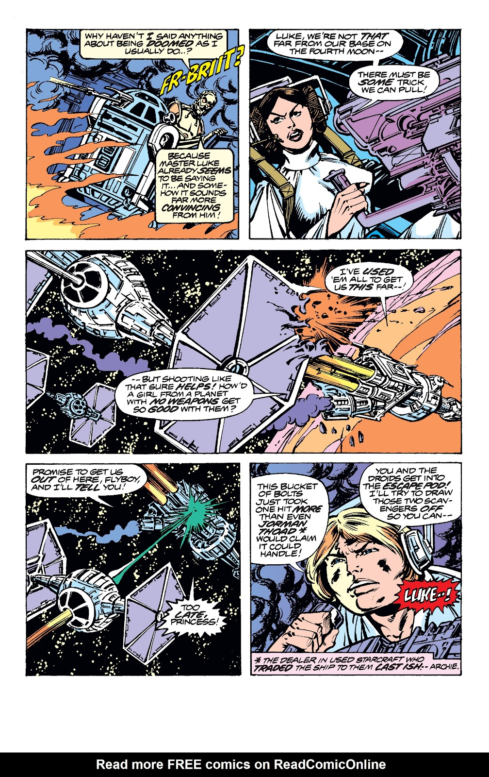Read online Star Wars Legends: The Original Marvel Years - Epic Collection comic -  Issue # TPB 2 (Part 1) - 44
