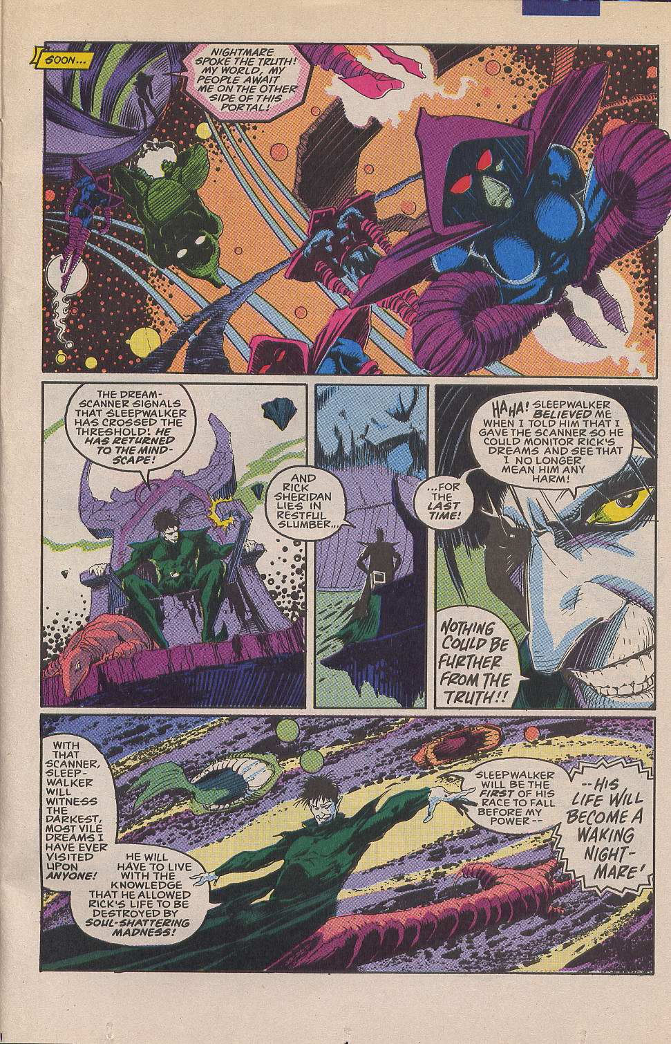 Read online Sleepwalker comic -  Issue #12 - 22