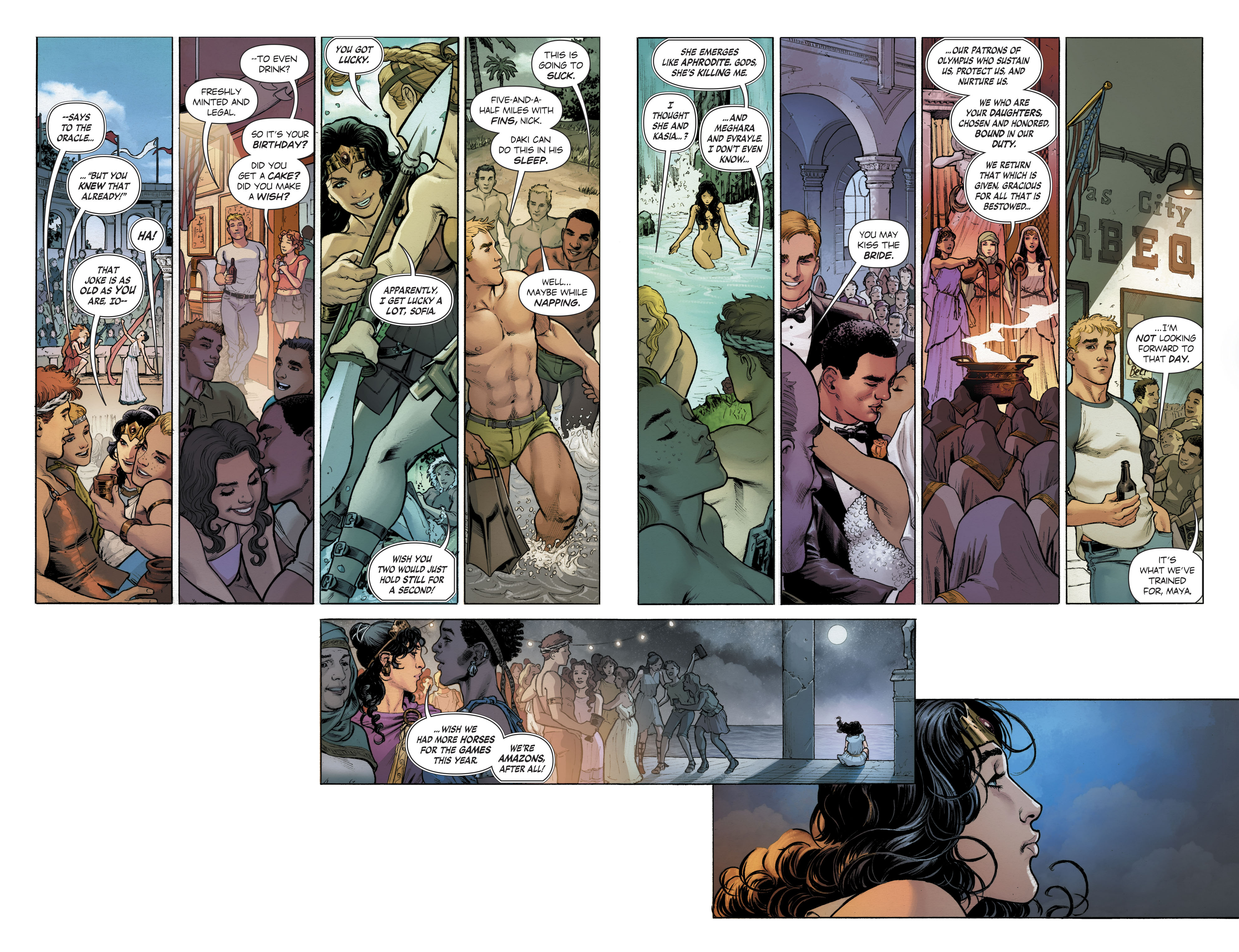 Read online Free Comic Book Day 2017 comic -  Issue # Wonder Woman - 9