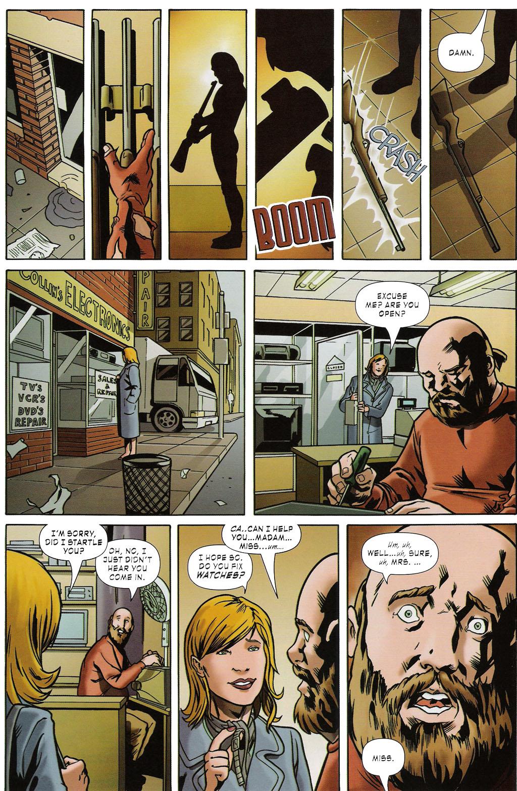 Read online ShadowHawk (2005) comic -  Issue #2 - 18