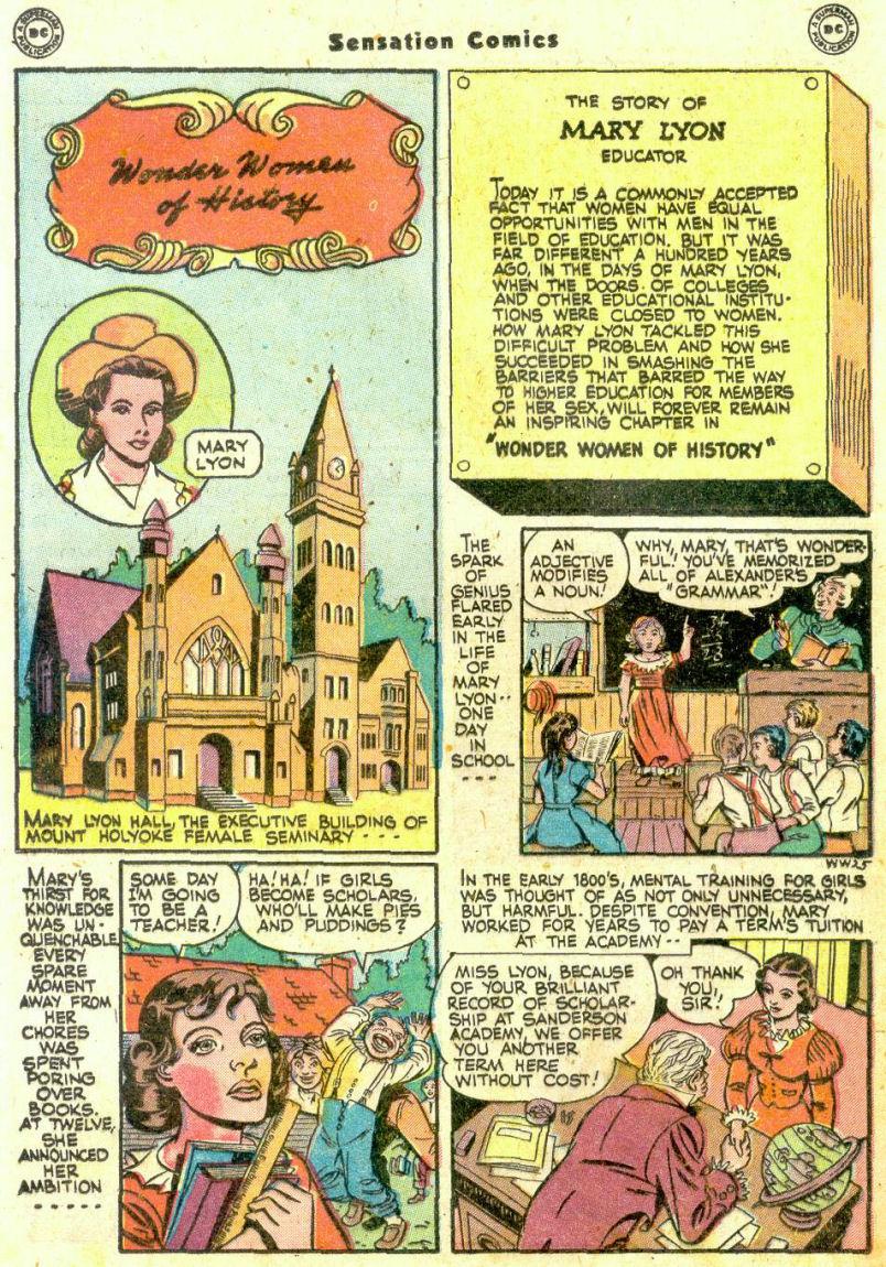 Read online Sensation (Mystery) Comics comic -  Issue #74 - 30