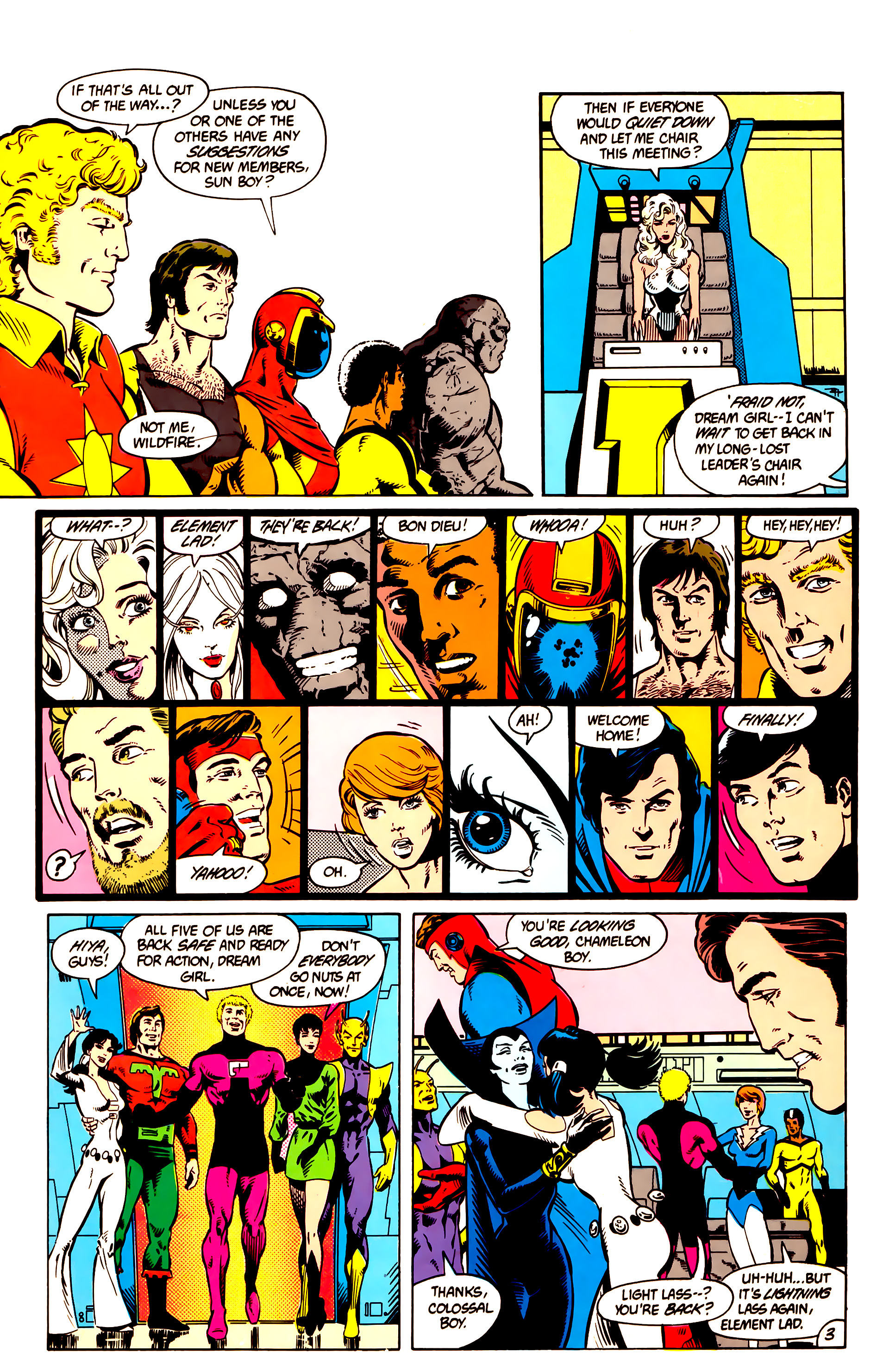 Legion of Super-Heroes (1984) 9 Page 4
