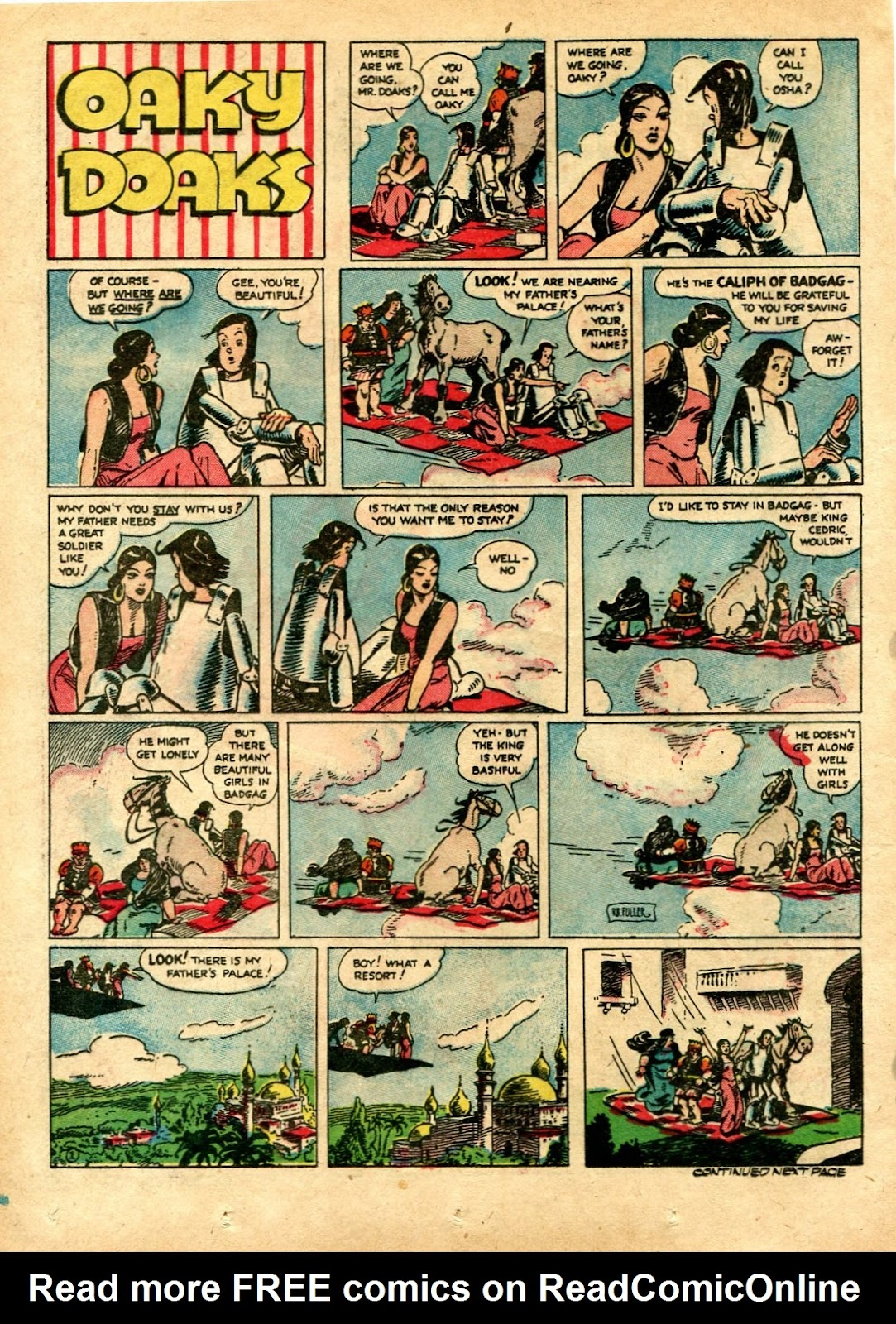 Read online Famous Funnies comic -  Issue #72 - 38