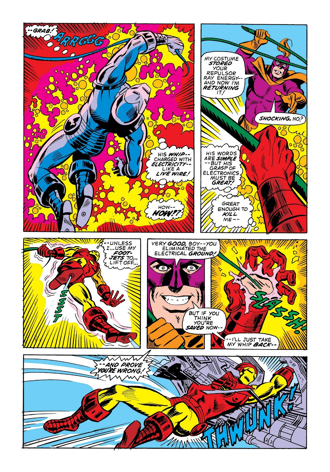 Read online Marvel Masterworks: The Invincible Iron Man comic -  Issue # TPB 9 (Part 2) - 86