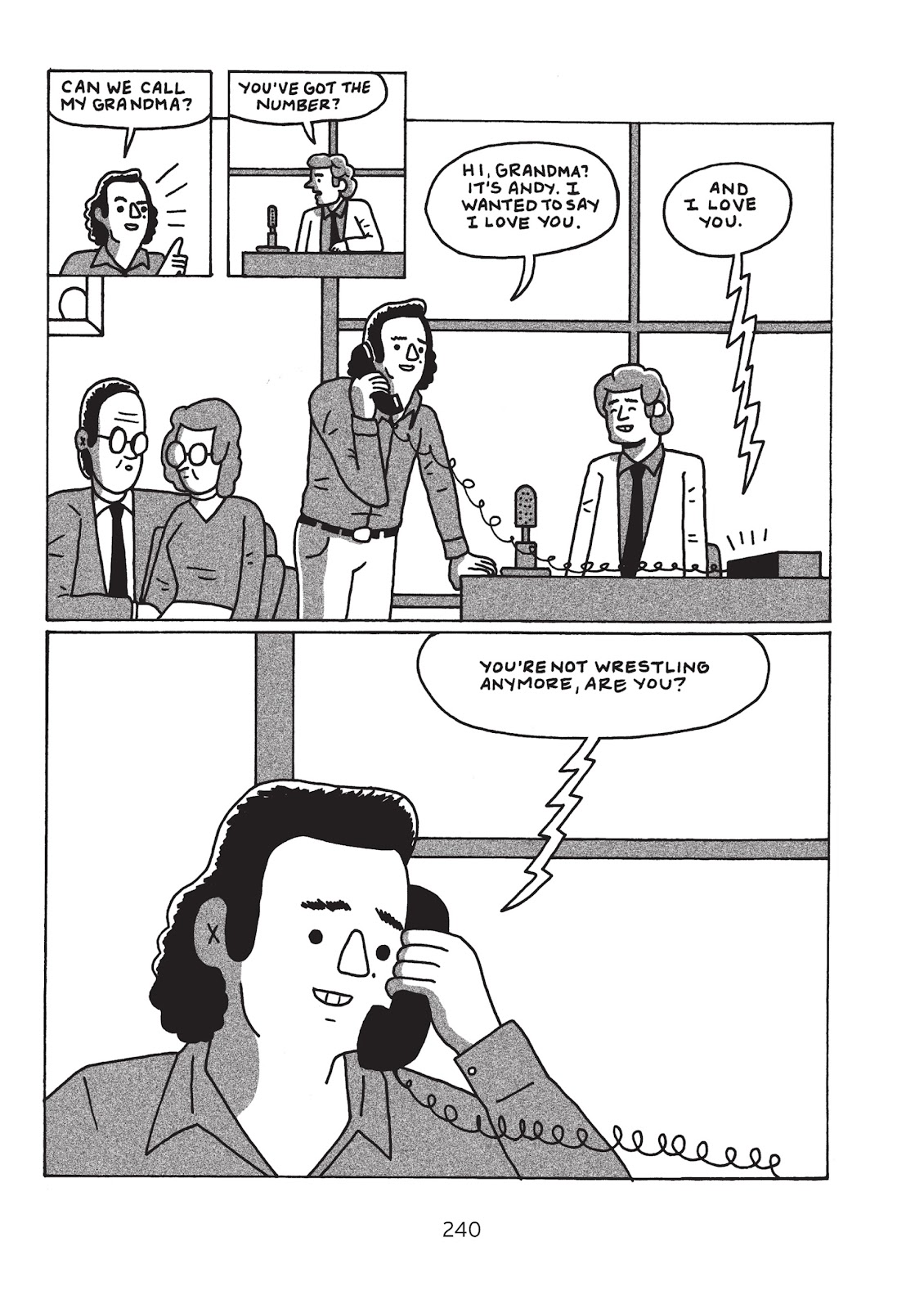 Read online Is This Guy For Real?: The Unbelievable Andy Kaufman comic -  Issue # TPB (Part 3) - 45