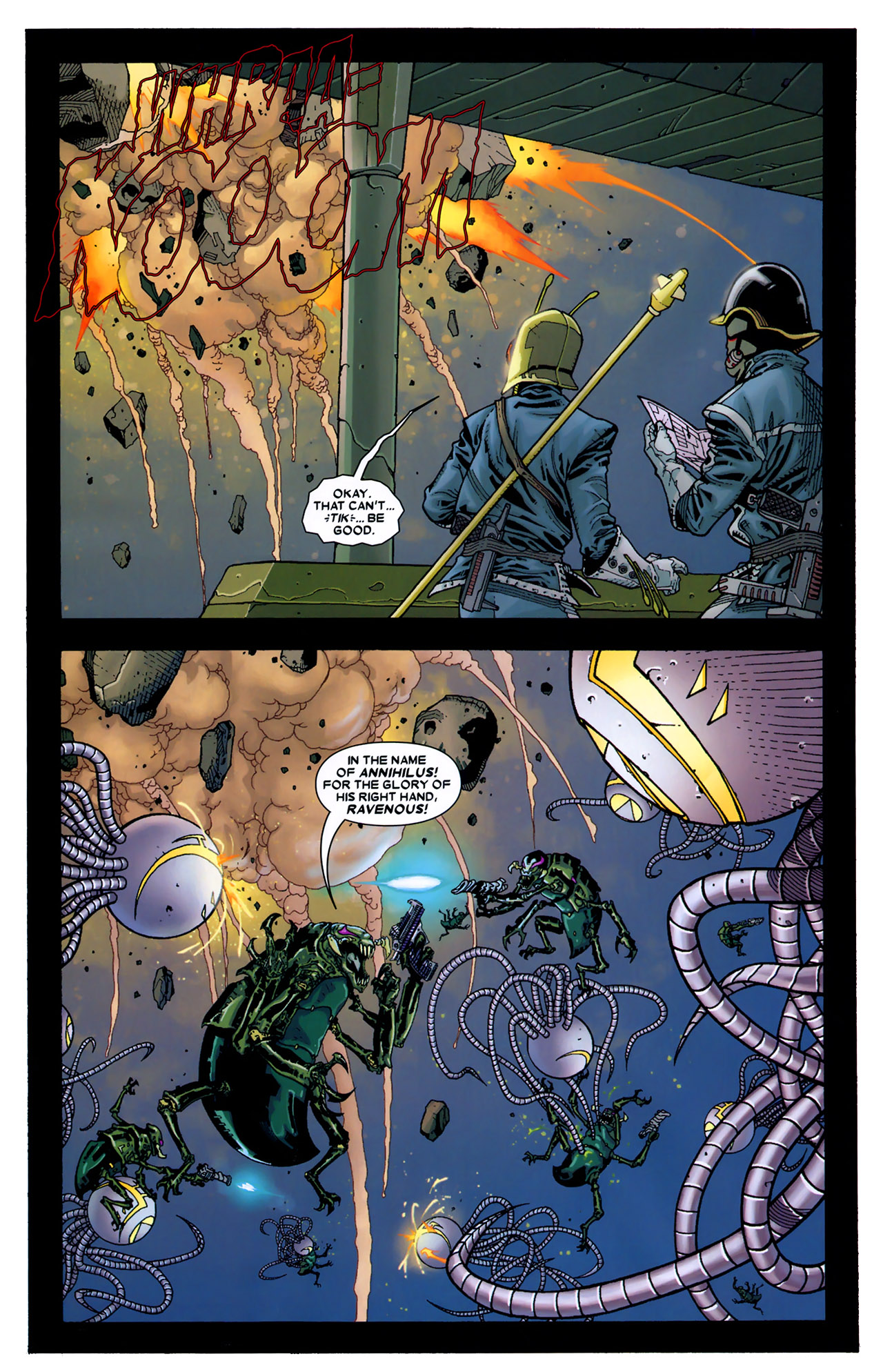 Read online Annihilation: Conquest - Starlord comic -  Issue #2 - 13