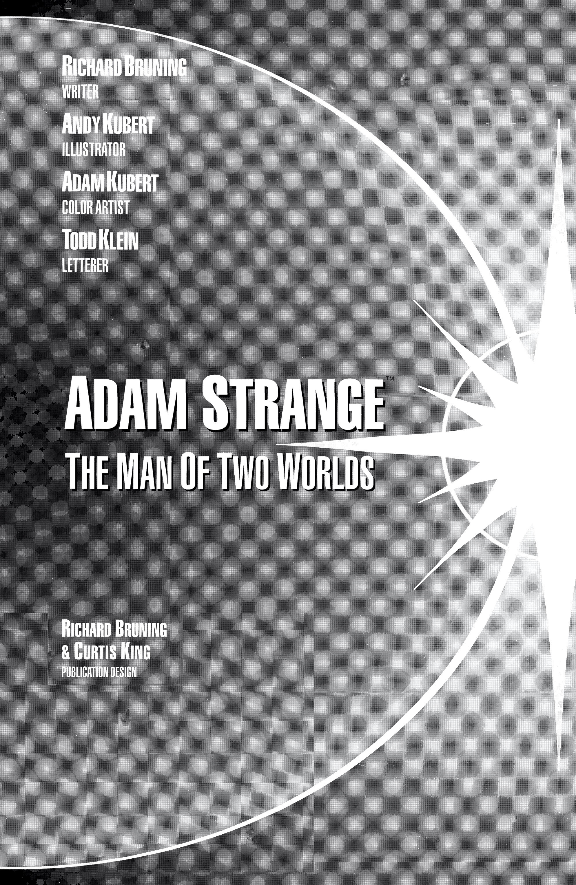 Read online Adam Strange (1990) comic -  Issue #1 - 3
