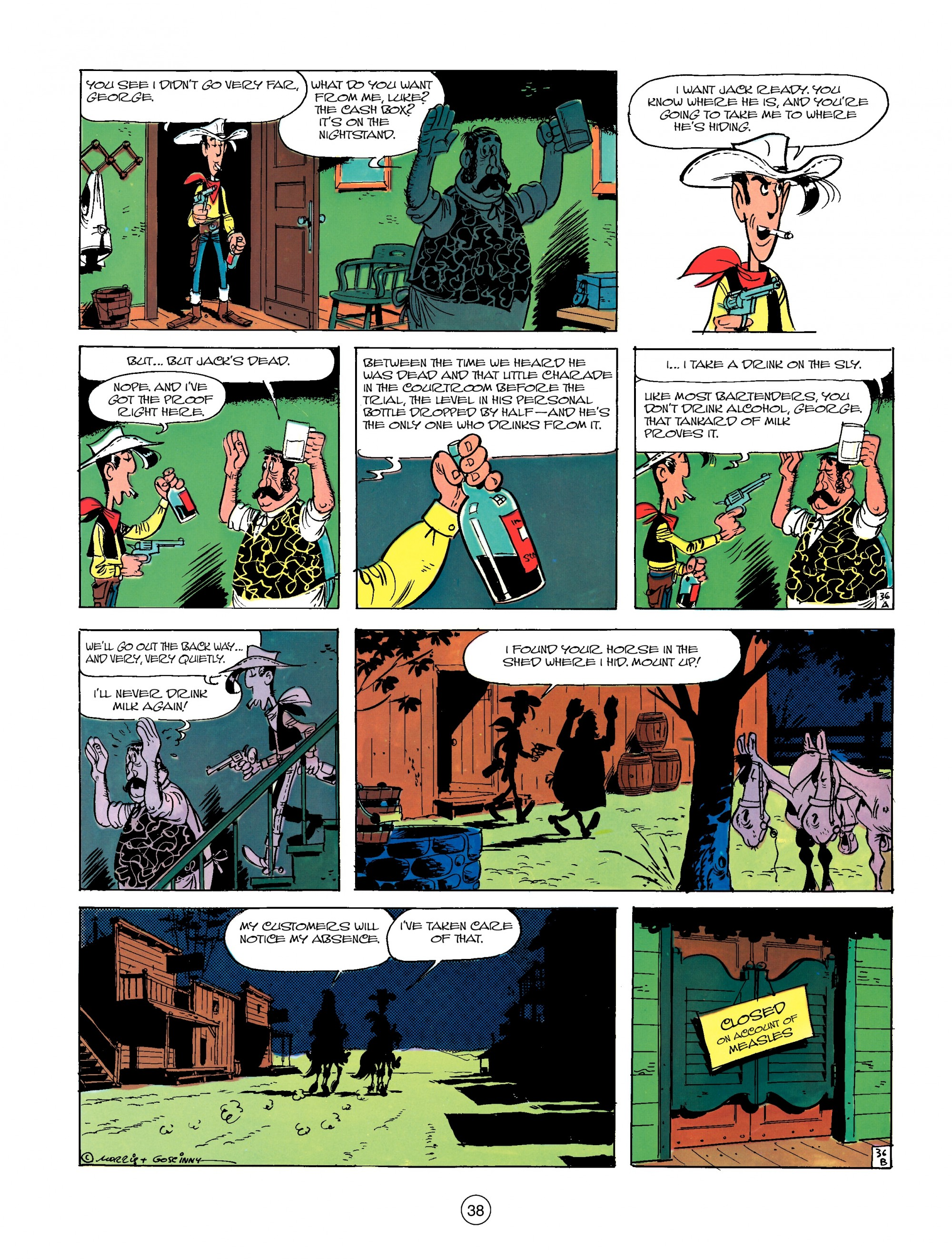 Read online A Lucky Luke Adventure comic -  Issue #13 - 38