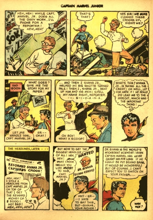 Captain Marvel, Jr. issue 39 - Page 5