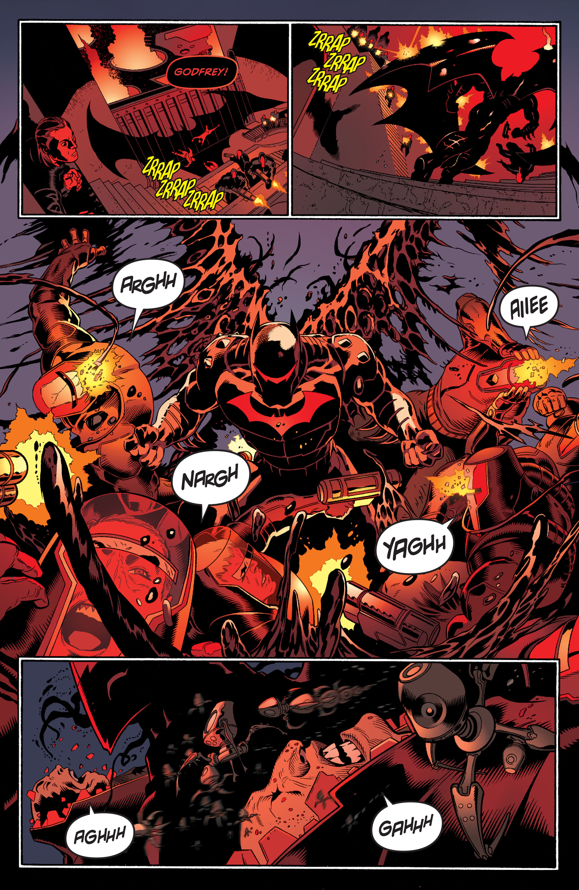 Read online Batman and Robin (2011) comic -  Issue #35 - 17