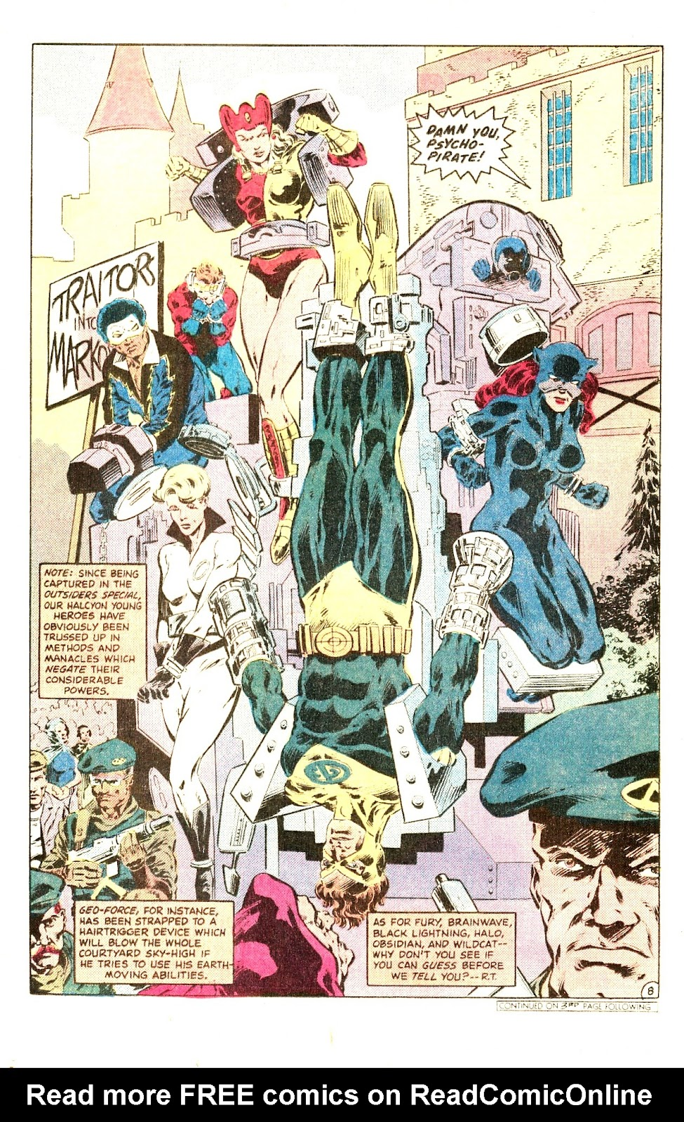 Infinity Inc. (1984) issue Special - Page 12
