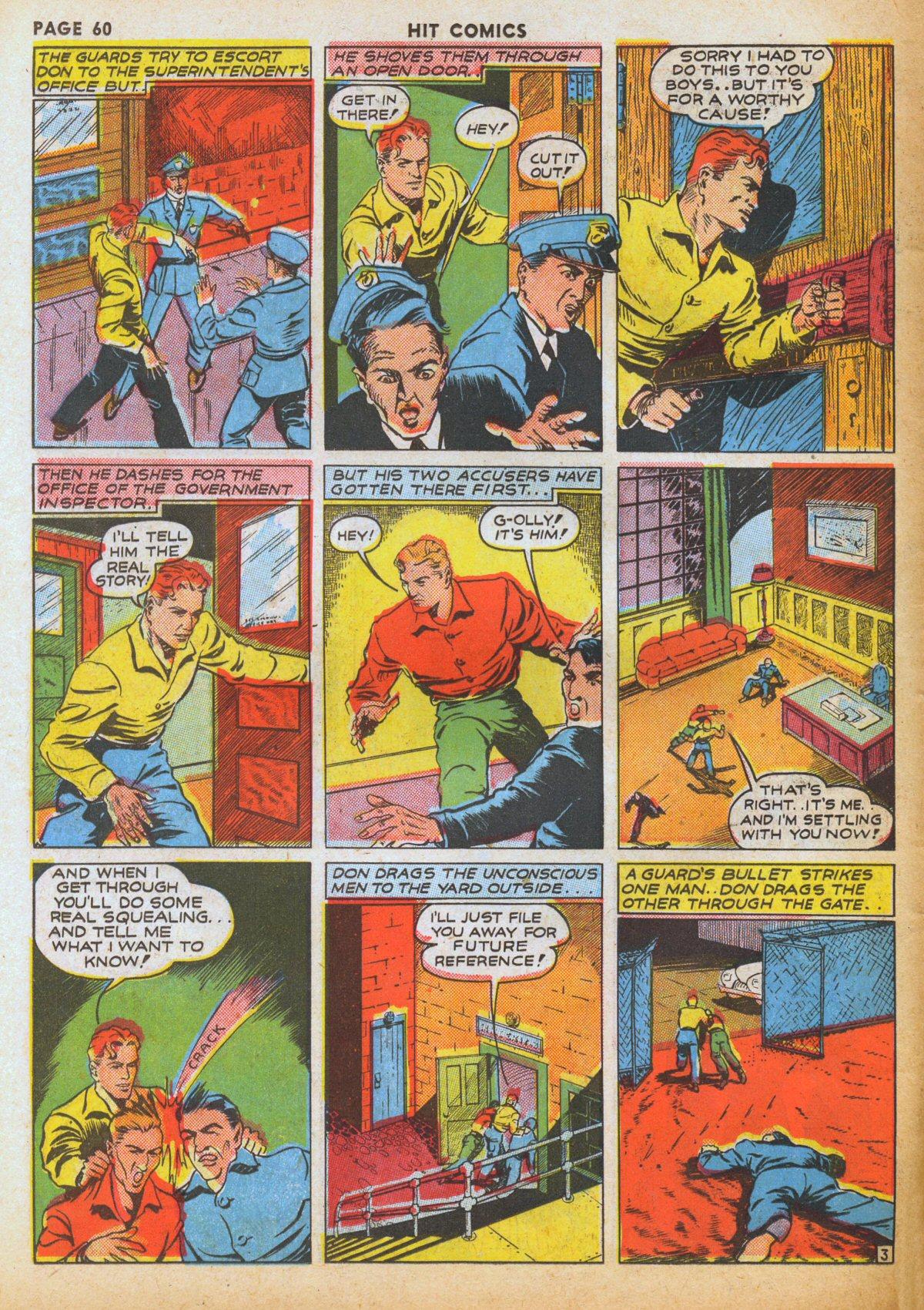 Read online Hit Comics comic -  Issue #12 - 62