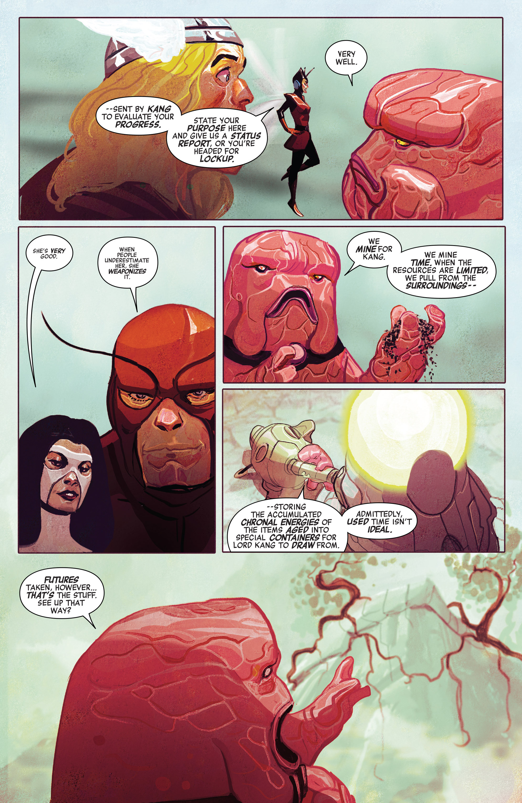 Read online Avengers (2016) comic -  Issue #5 - 18