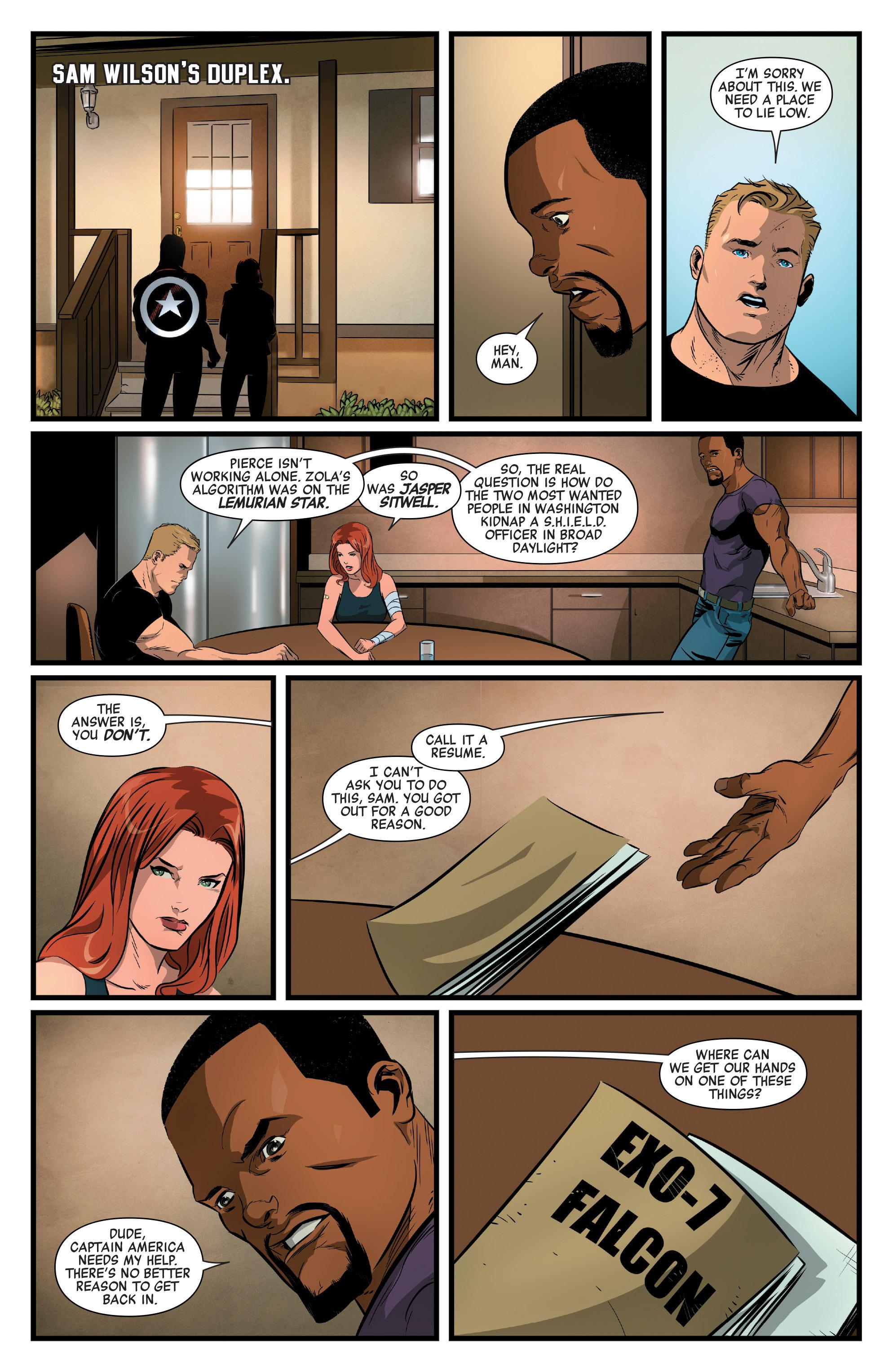 Read online Captain America: Civil War Prelude comic -  Issue #4 - 6