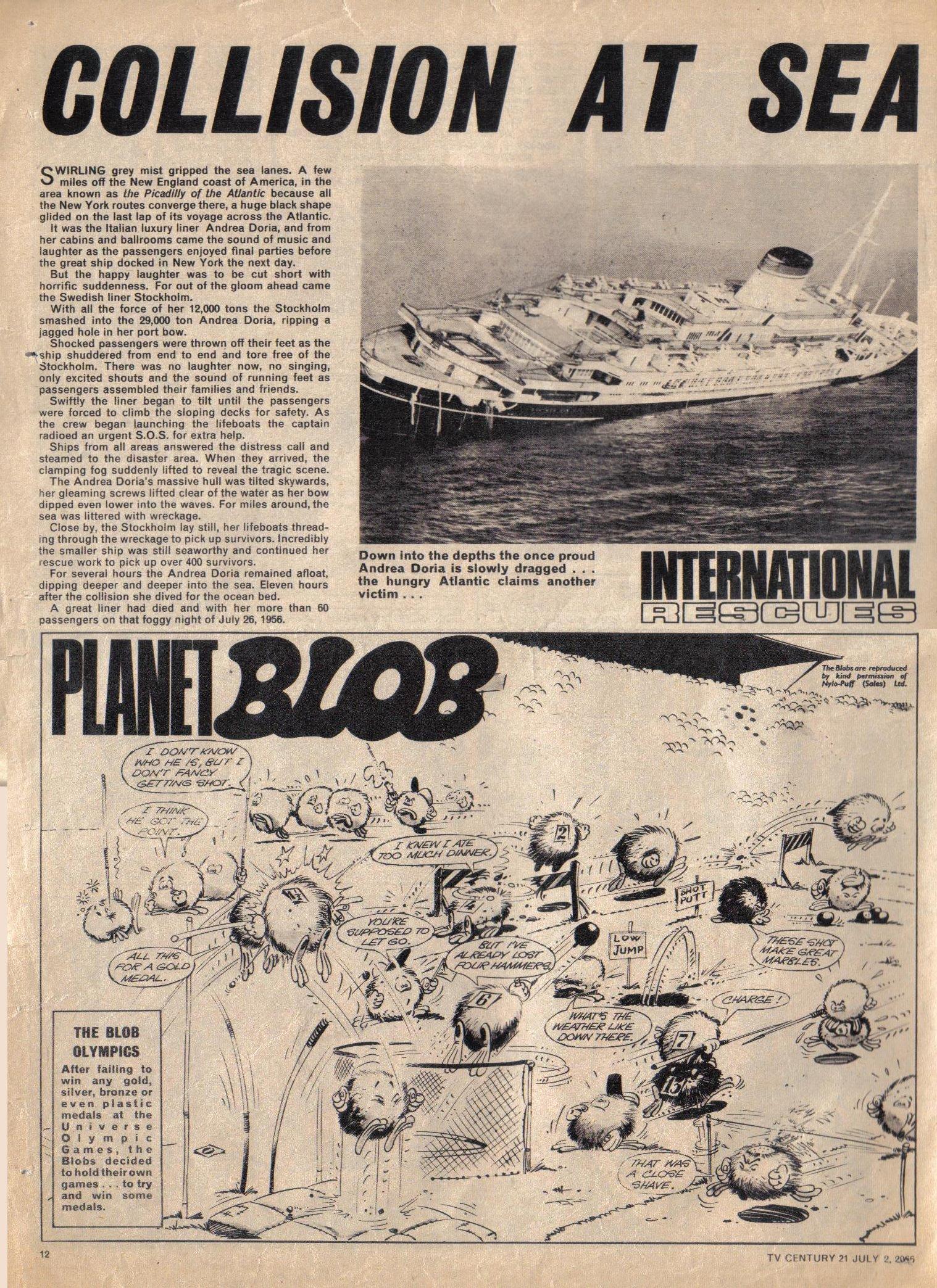 Read online TV Century 21 (TV 21) comic -  Issue #76 - 11