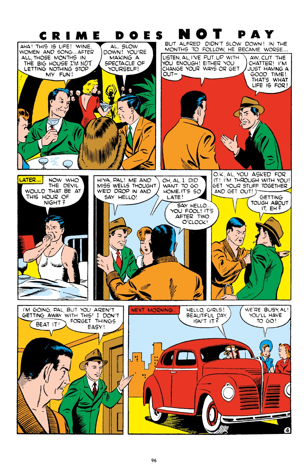 Read online Crime Does Not Pay Archives comic -  Issue # TPB 4 (Part 1) - 96