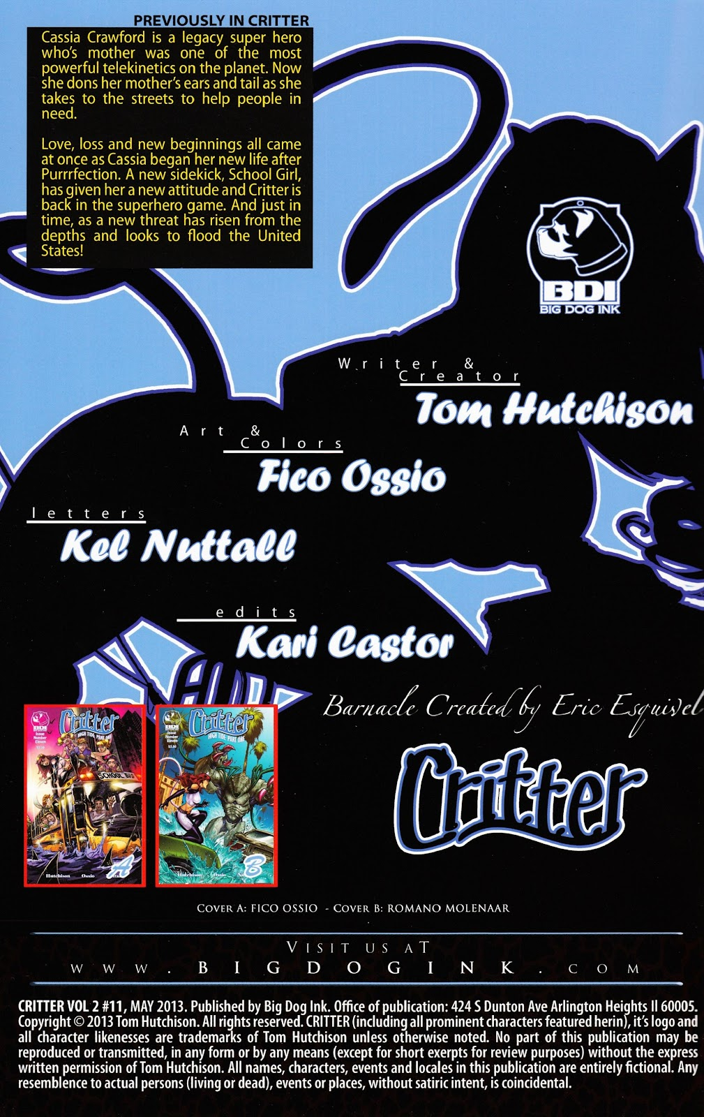 Read online Critter (2012) comic -  Issue #11 - 2