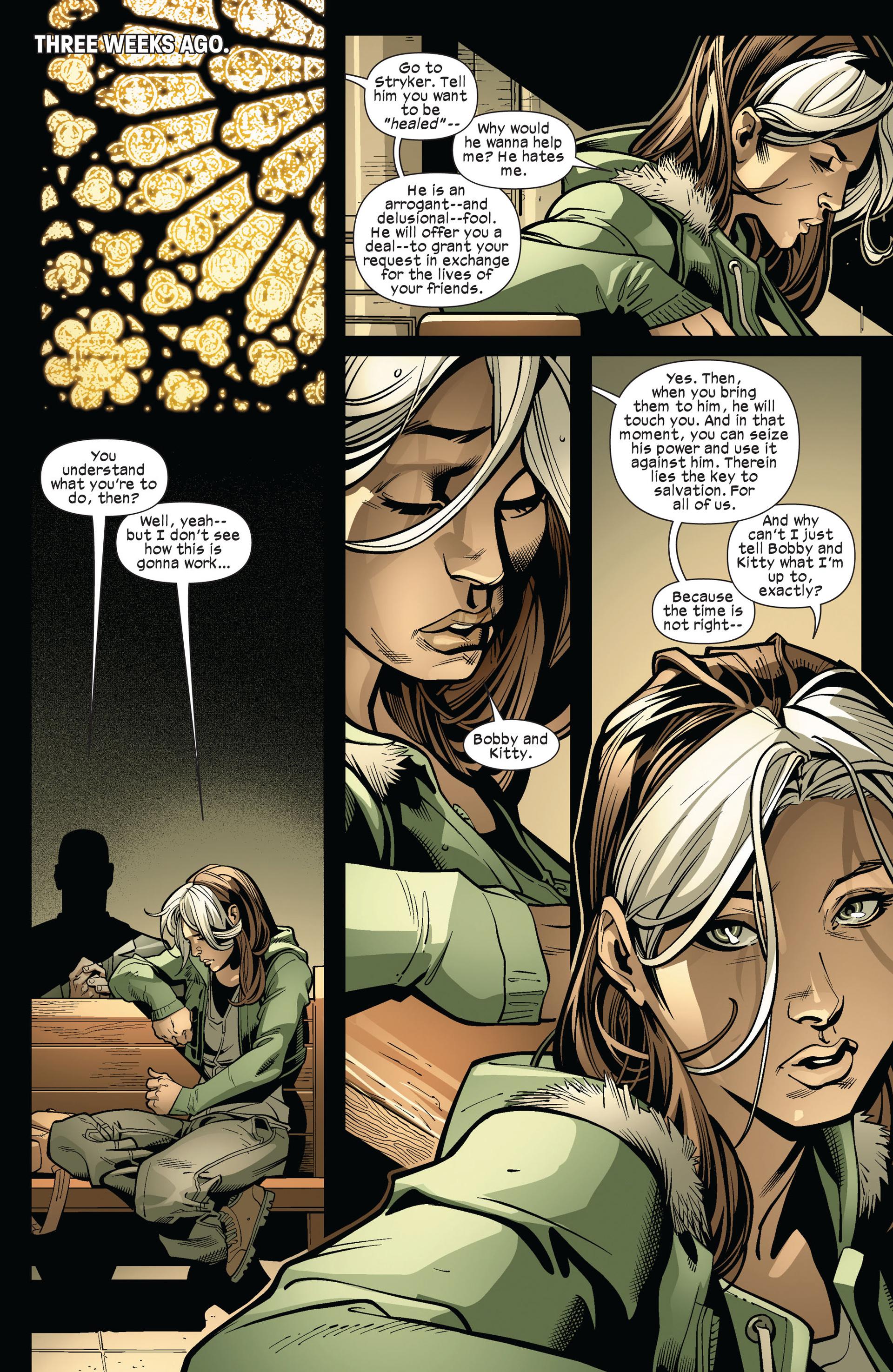 Read online Ultimate Comics X-Men comic -  Issue #6 - 19