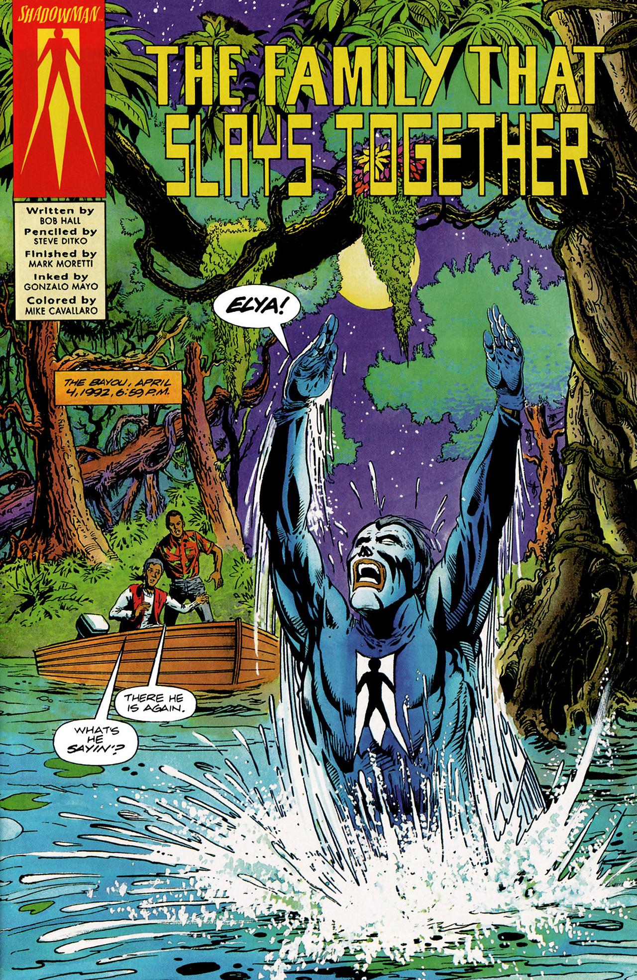Read online Shadowman (1992) comic -  Issue #6 - 2