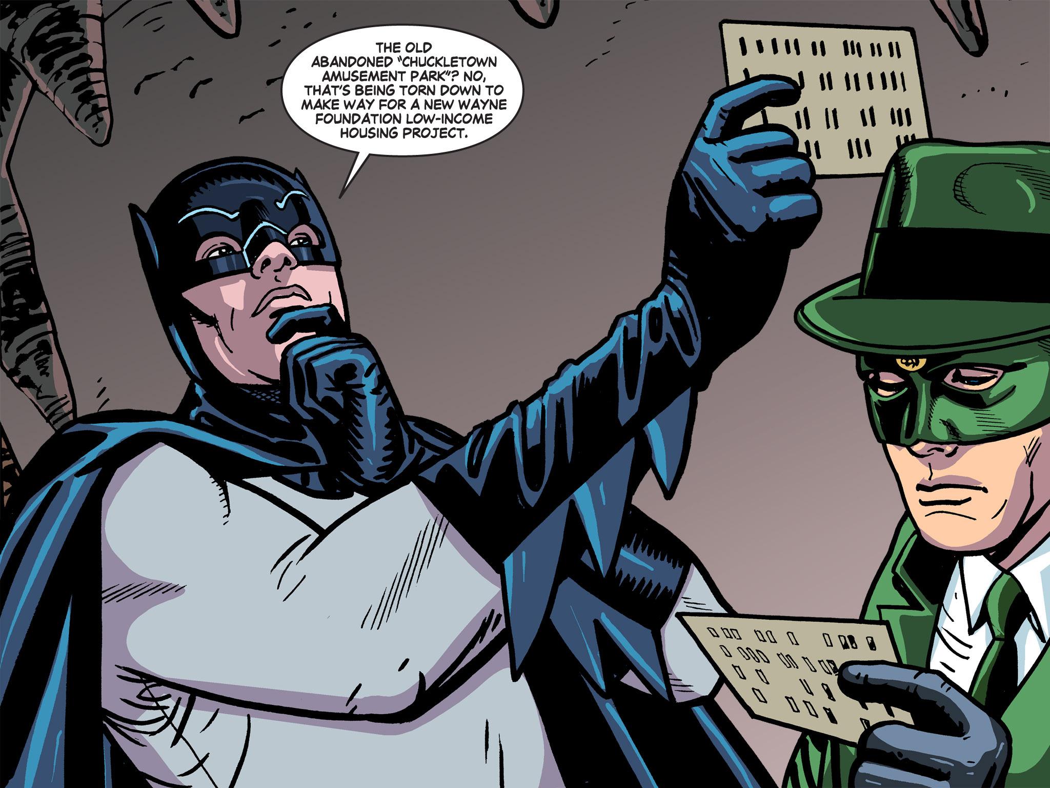 Read online Batman '66 Meets the Green Hornet [II] comic -  Issue #5 - 64